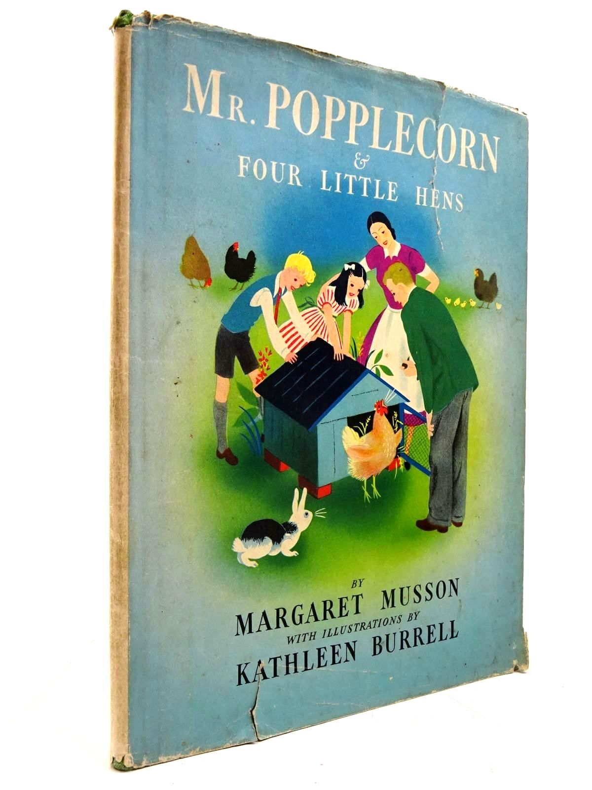 Photo of MR POPPLECORN & FOUR LITTLE HENS written by Musson, Margaret illustrated by Burrell, Kathleen published by George G. Harrap & Co. Ltd. (STOCK CODE: 2130652)  for sale by Stella & Rose's Books