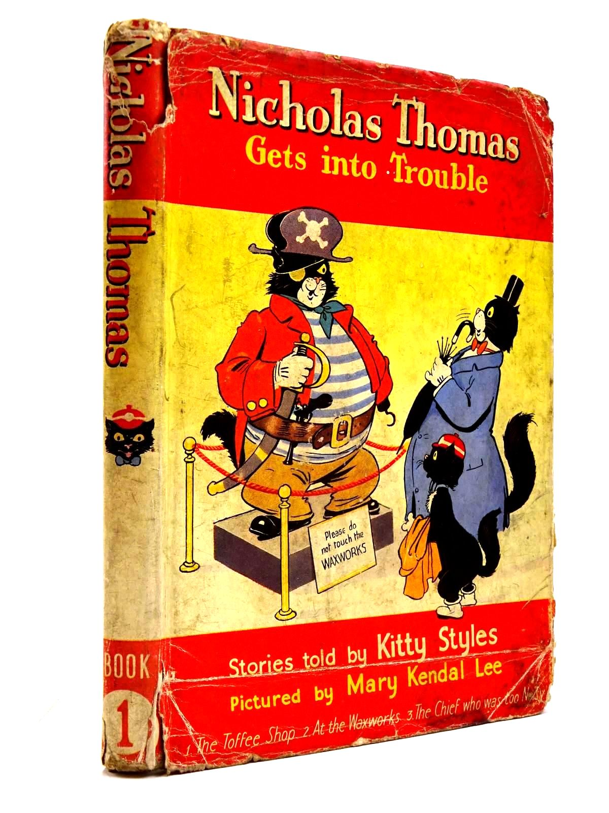 Photo of NICHOLAS THOMAS GETS INTO TROUBLE BOOK 1- Stock Number: 2130672
