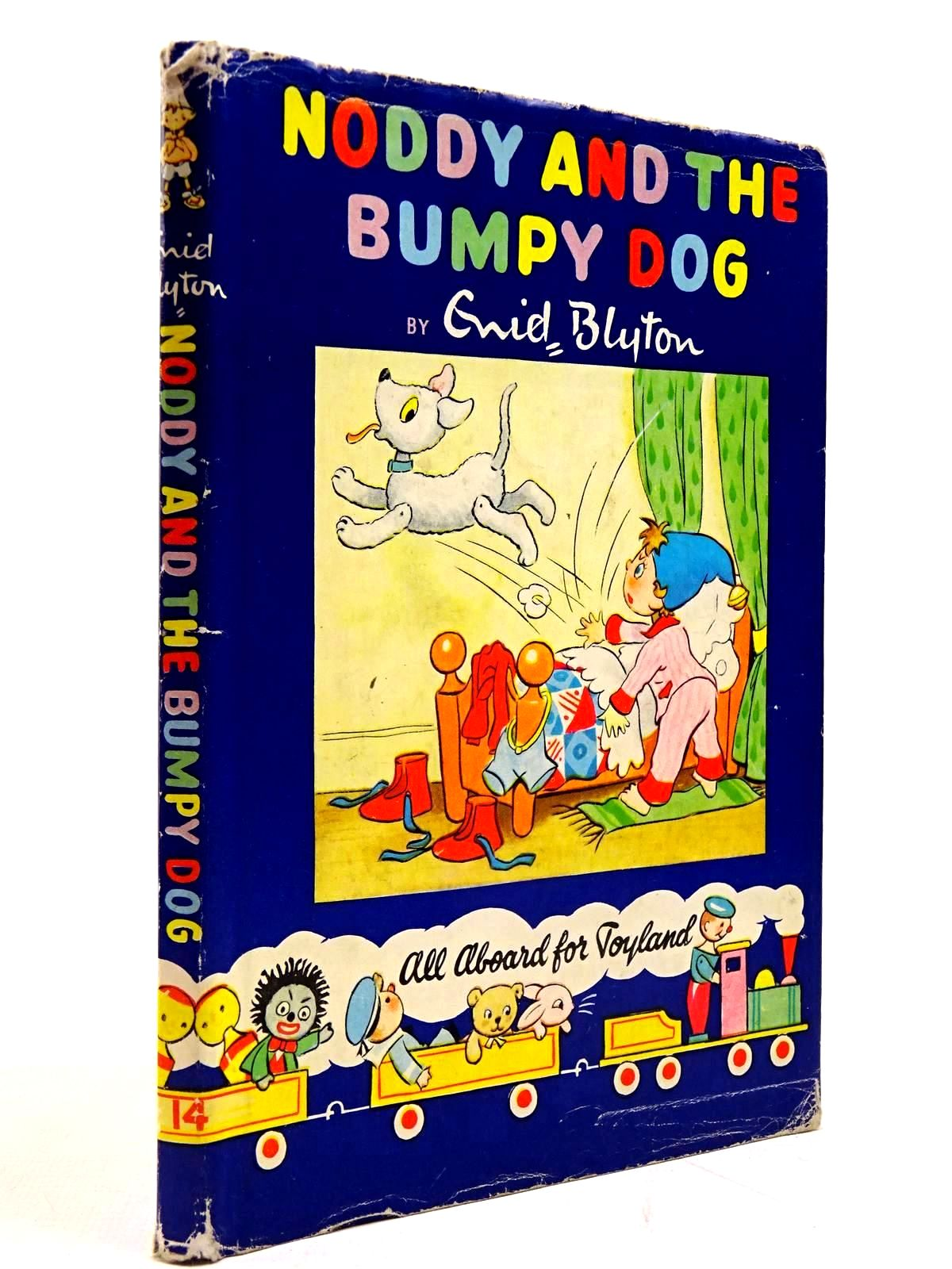 Photo of NODDY AND THE BUMPY DOG written by Blyton, Enid illustrated by Lee, Robert Tyndall, Robert published by Sampson Low, Marston & Co. Ltd., The Richards Press Ltd. (STOCK CODE: 2130673)  for sale by Stella & Rose's Books