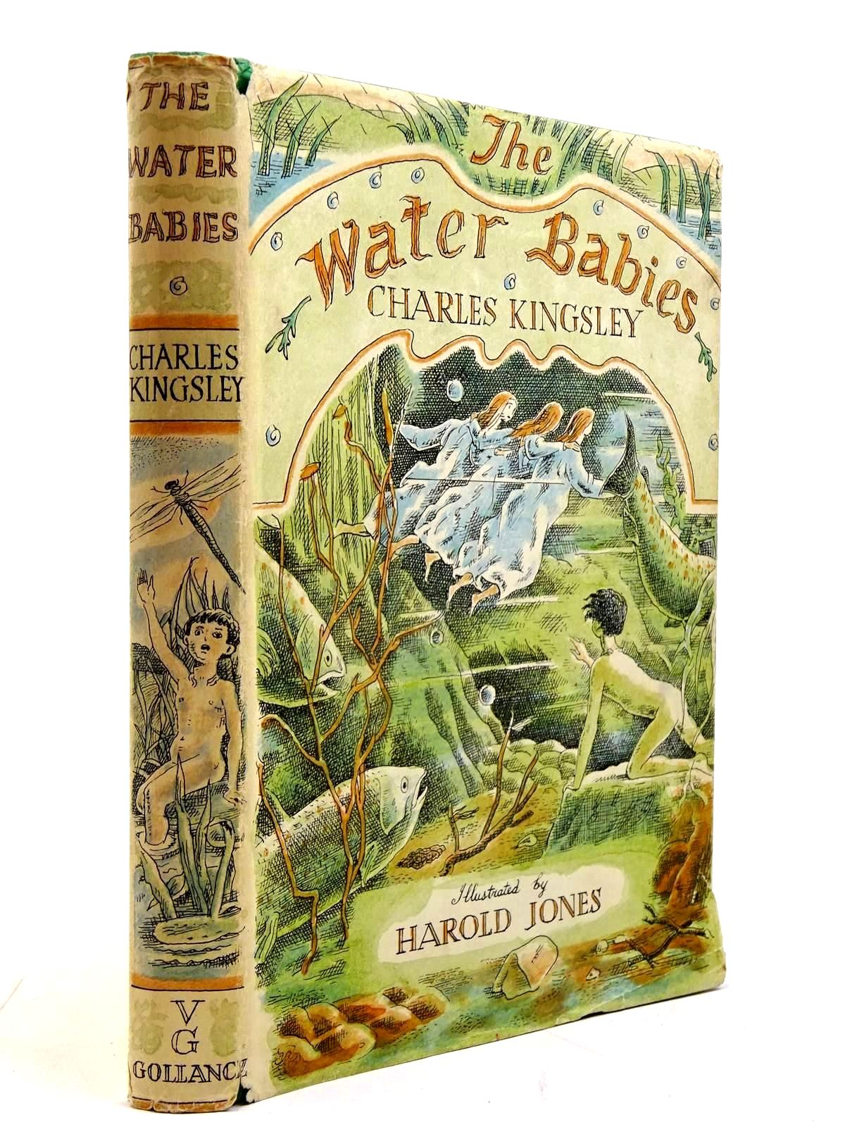 Photo of THE WATER BABIES written by Kingsley, Charles<br />Lines, Kathleen illustrated by Jones, Harold published by Victor Gollancz Ltd. (STOCK CODE: 2130676)  for sale by Stella & Rose's Books