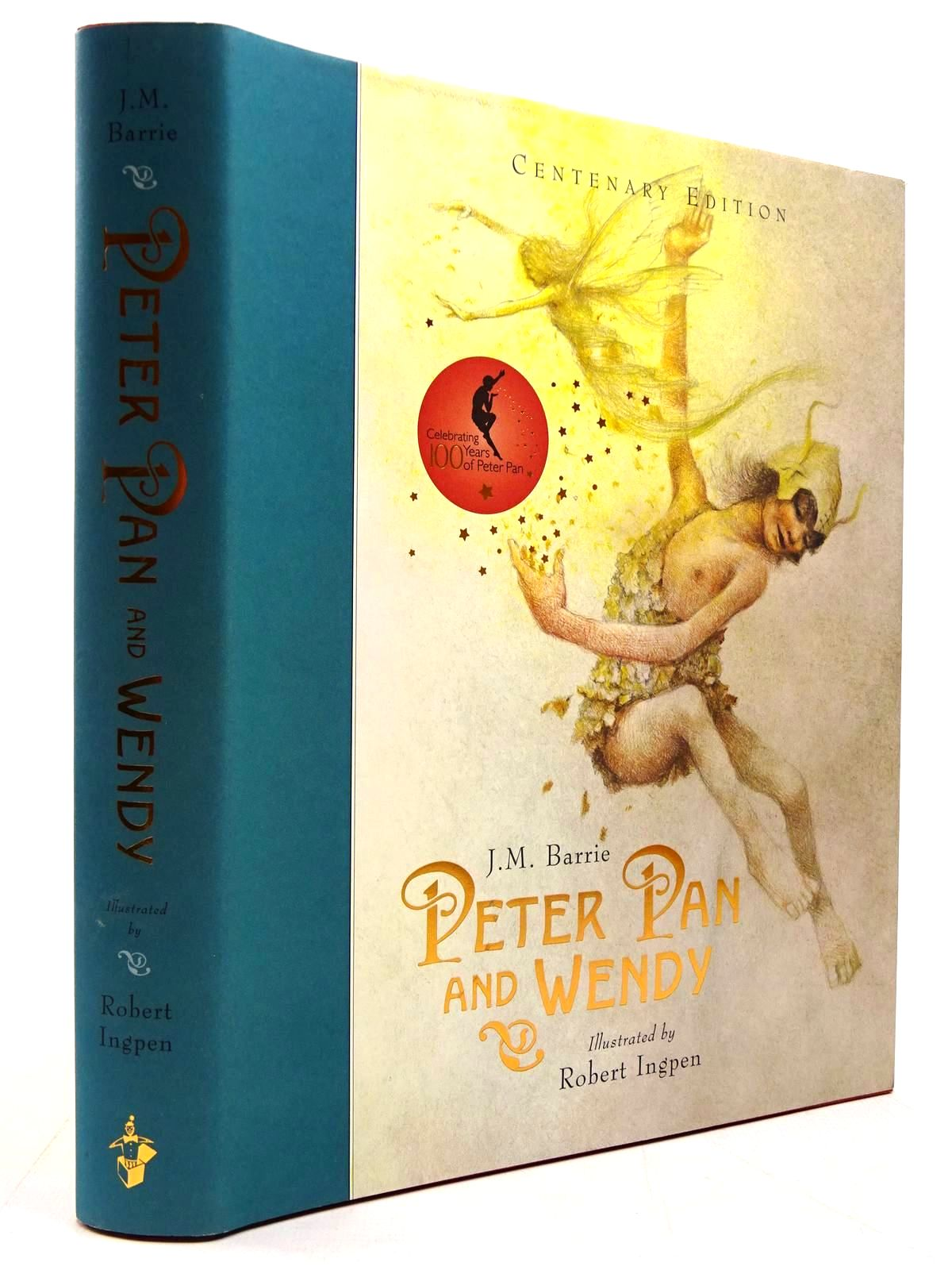 Photo of PETER PAN AND WENDY written by Barrie, J.M. illustrated by Ingpen, Robert published by Templar Publishing (STOCK CODE: 2130697)  for sale by Stella & Rose's Books