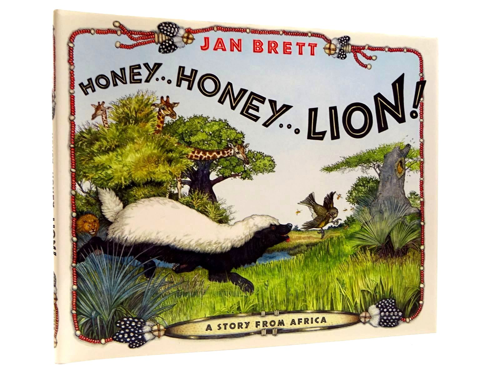 Photo of HONEY.. HONEY...LION! written by Brett, Jan illustrated by Brett, Jan published by G.P. Putnam's Sons (STOCK CODE: 2130704)  for sale by Stella & Rose's Books