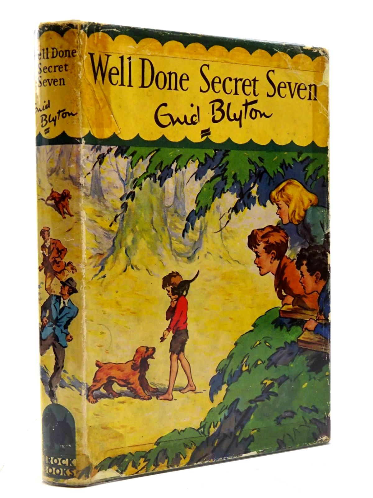 Photo of WELL DONE SECRET SEVEN written by Blyton, Enid illustrated by Brook, George published by Brockhampton Press Ltd. (STOCK CODE: 2130711)  for sale by Stella & Rose's Books