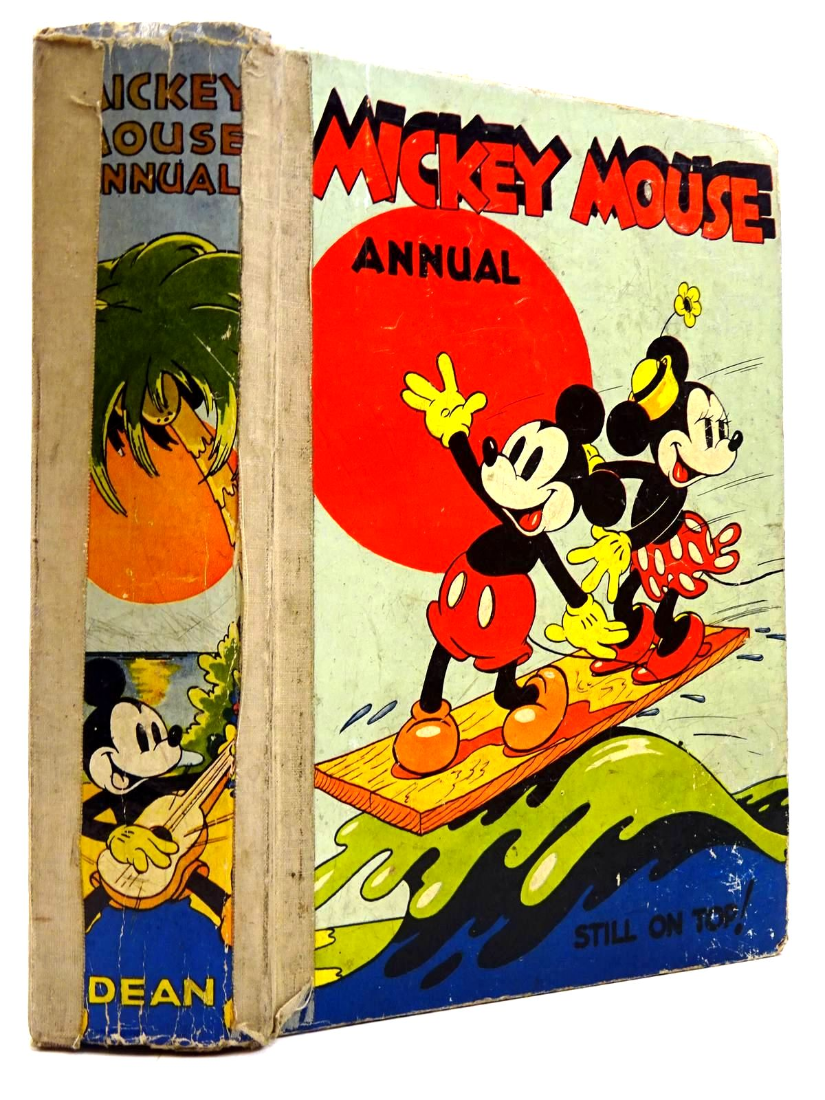 Photo of MICKEY MOUSE ANNUAL 1938 FOR 1939- Stock Number: 2130742