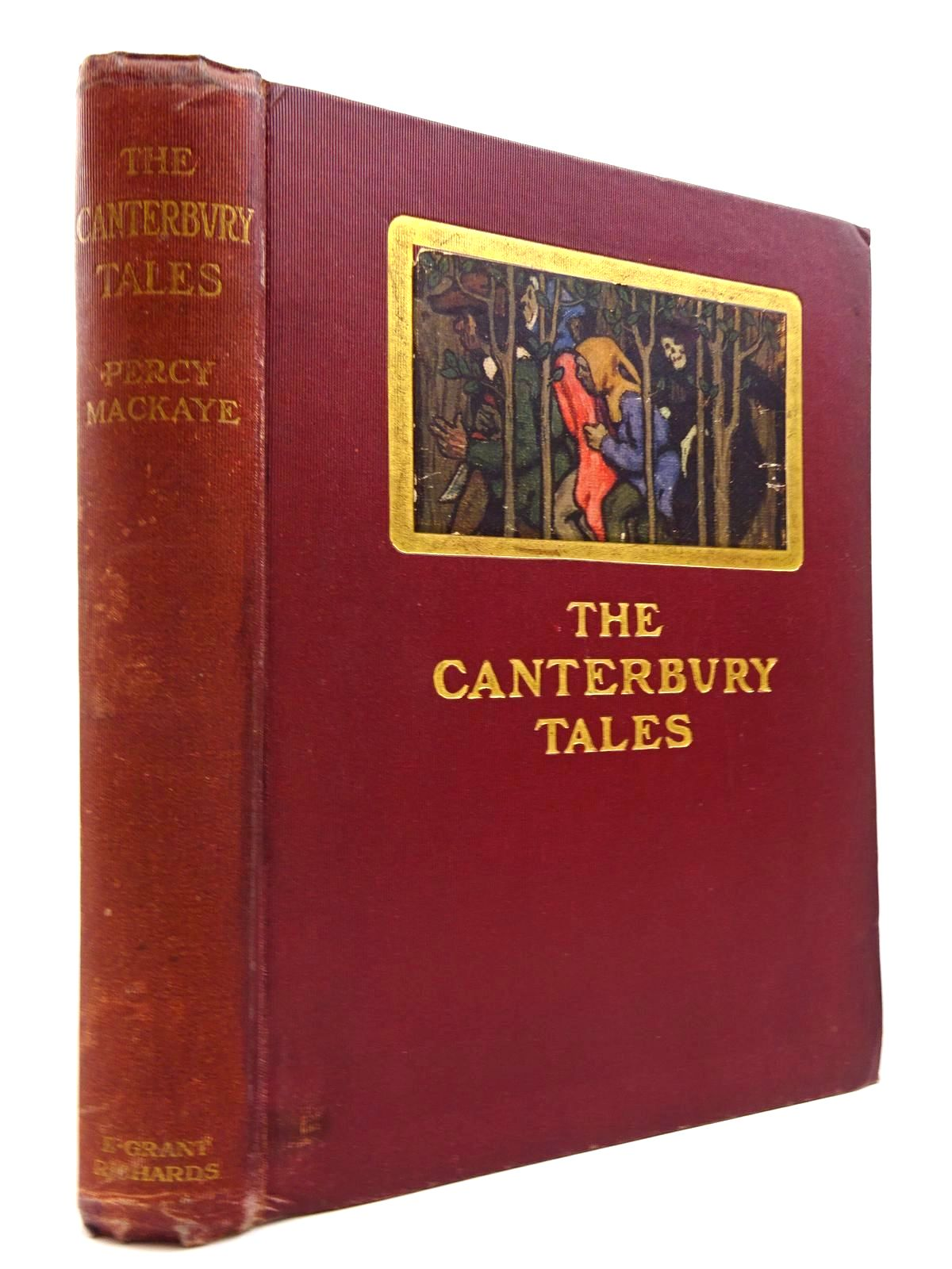 Photo of THE CANTERBURY TALES OF GEOFFREY CHAUCER- Stock Number: 2130745