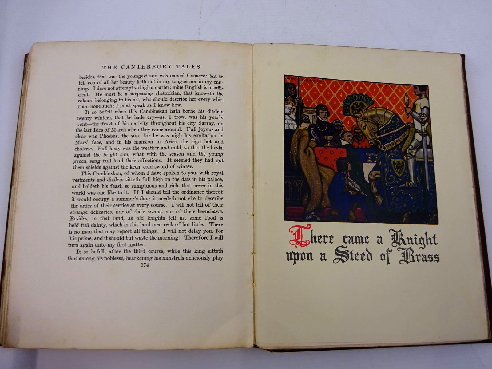 Photo of THE CANTERBURY TALES OF GEOFFREY CHAUCER written by Mackaye, Percy Chaucer, Geoffrey illustrated by Clark, Walter Appleton published by E. Grant Richards (STOCK CODE: 2130745)  for sale by Stella & Rose's Books