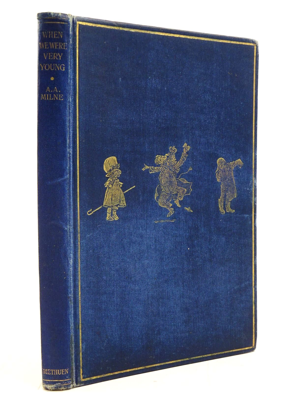 Photo of WHEN WE WERE VERY YOUNG written by Milne, A.A. illustrated by Shepard, E.H. published by Methuen & Co. Ltd. (STOCK CODE: 2130761)  for sale by Stella & Rose's Books