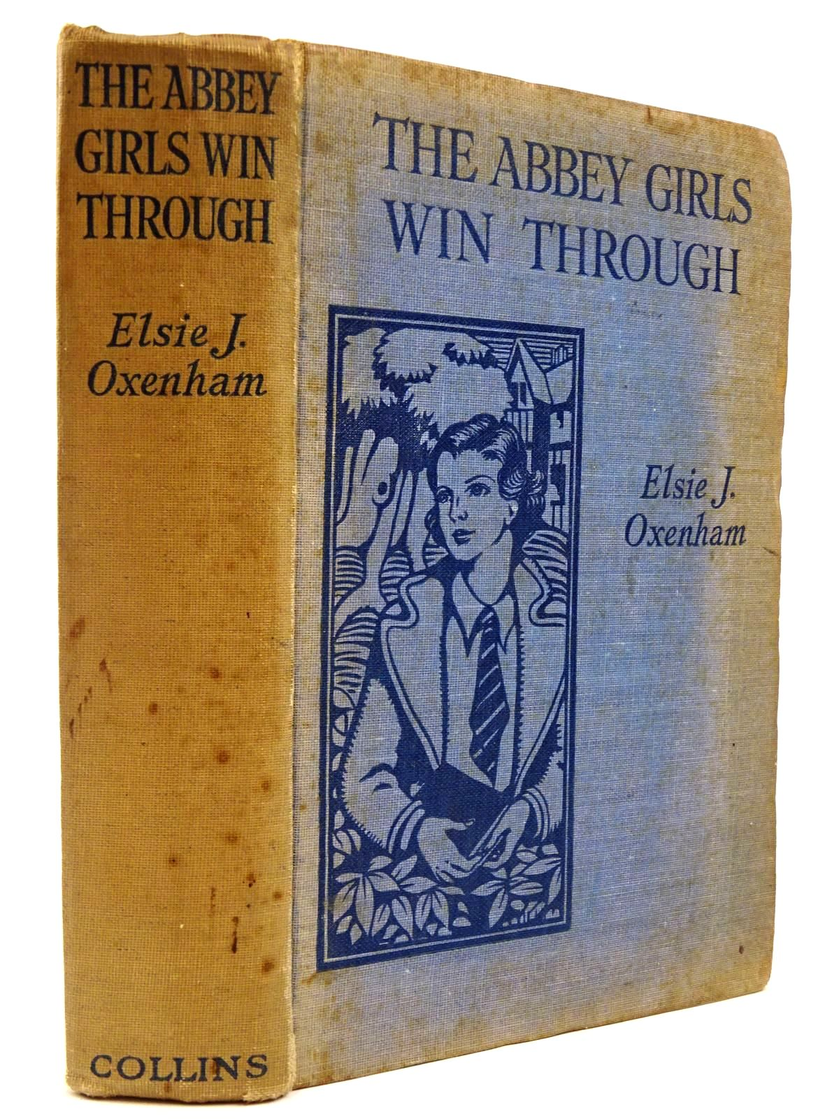 Photo of THE ABBEY GIRLS WIN THROUGH written by Oxenham, Elsie J. published by Collins Clear-Type Press (STOCK CODE: 2130766)  for sale by Stella & Rose's Books