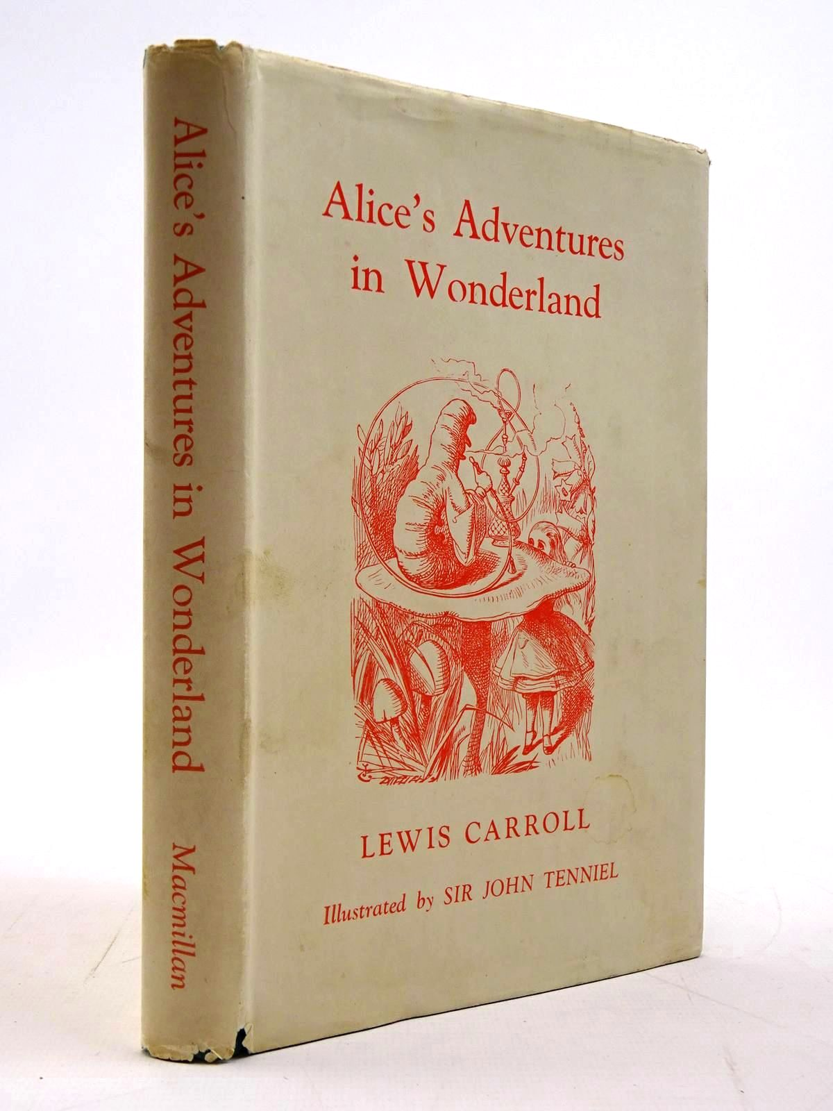 Photo of ALICE'S ADVENTURES IN WONDERLAND written by Carroll, Lewis illustrated by Tenniel, John published by Macmillan & Co. Ltd. (STOCK CODE: 2130769)  for sale by Stella & Rose's Books