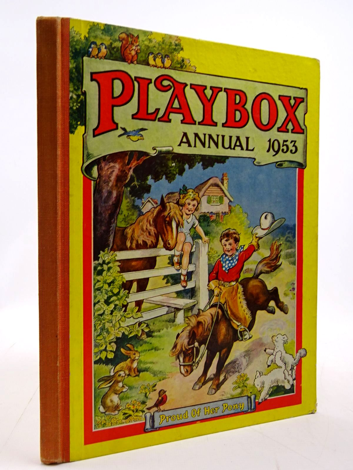 Photo of PLAYBOX ANNUAL 1953 published by The Amalgamated Press (STOCK CODE: 2130805)  for sale by Stella & Rose's Books
