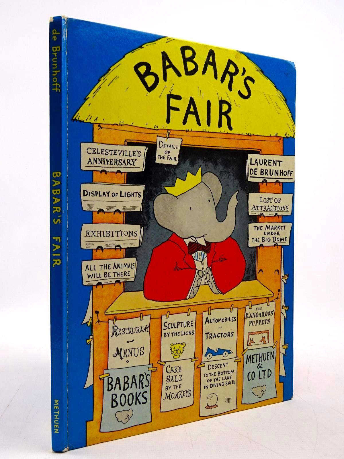 Photo of BABAR'S FAIR written by De Brunhoff, Laurent Jones, Olive published by Methuen & Co. Ltd. (STOCK CODE: 2130806)  for sale by Stella & Rose's Books