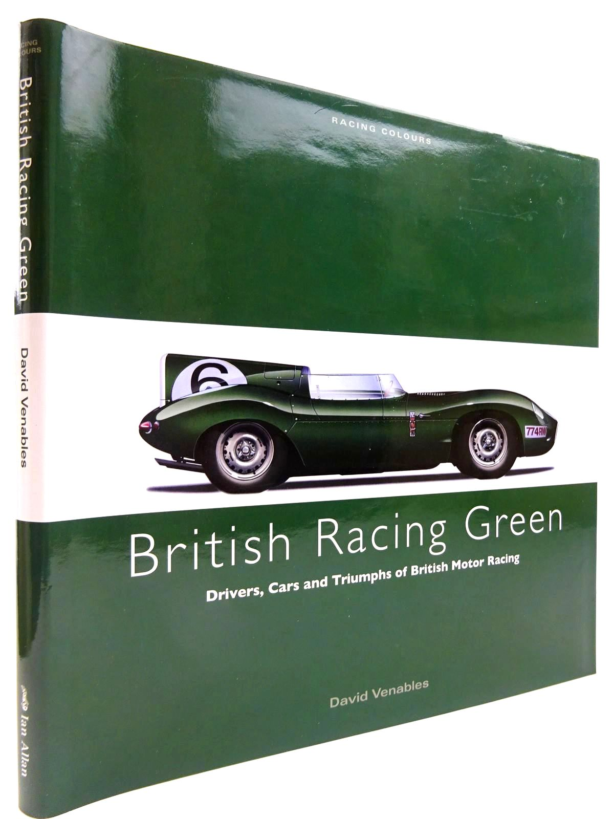 Photo of BRITISH RACING GREEN written by Venables, David published by Ian Allan (STOCK CODE: 2130843)  for sale by Stella & Rose's Books