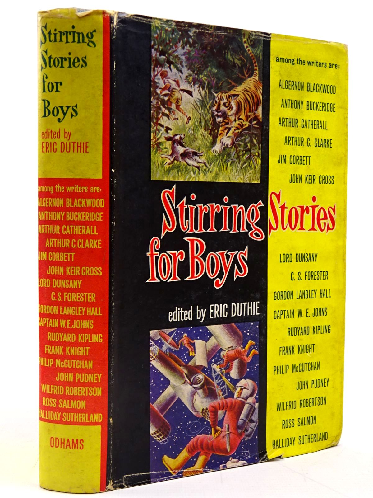 Photo of STIRRING STORIES FOR BOYS written by Duthie, Eric<br />et al,  illustrated by Thompson, Ralph<br />et al.,  published by Odhams Books (STOCK CODE: 2130859)  for sale by Stella & Rose's Books