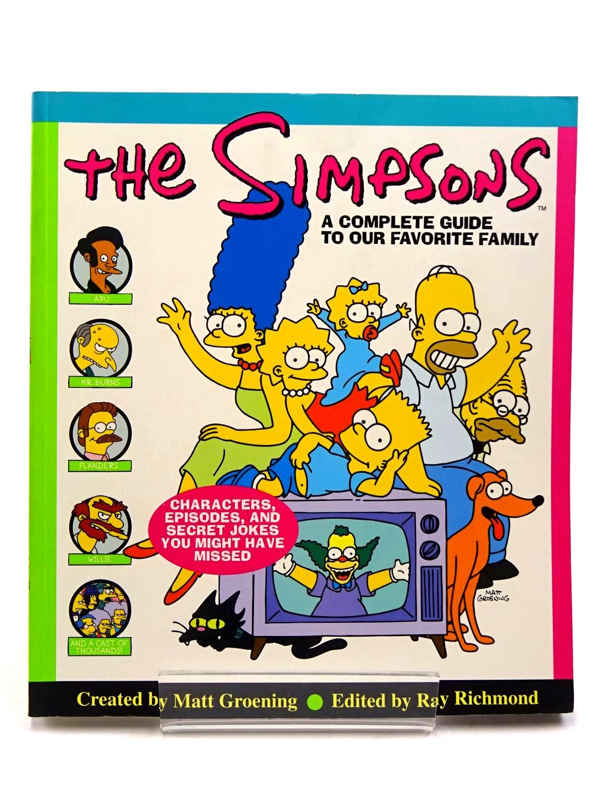 Photo of THE SIMPSONS A COMPLETE GUIDE TO OUR FAVORITE FAMILY- Stock Number: 2130863