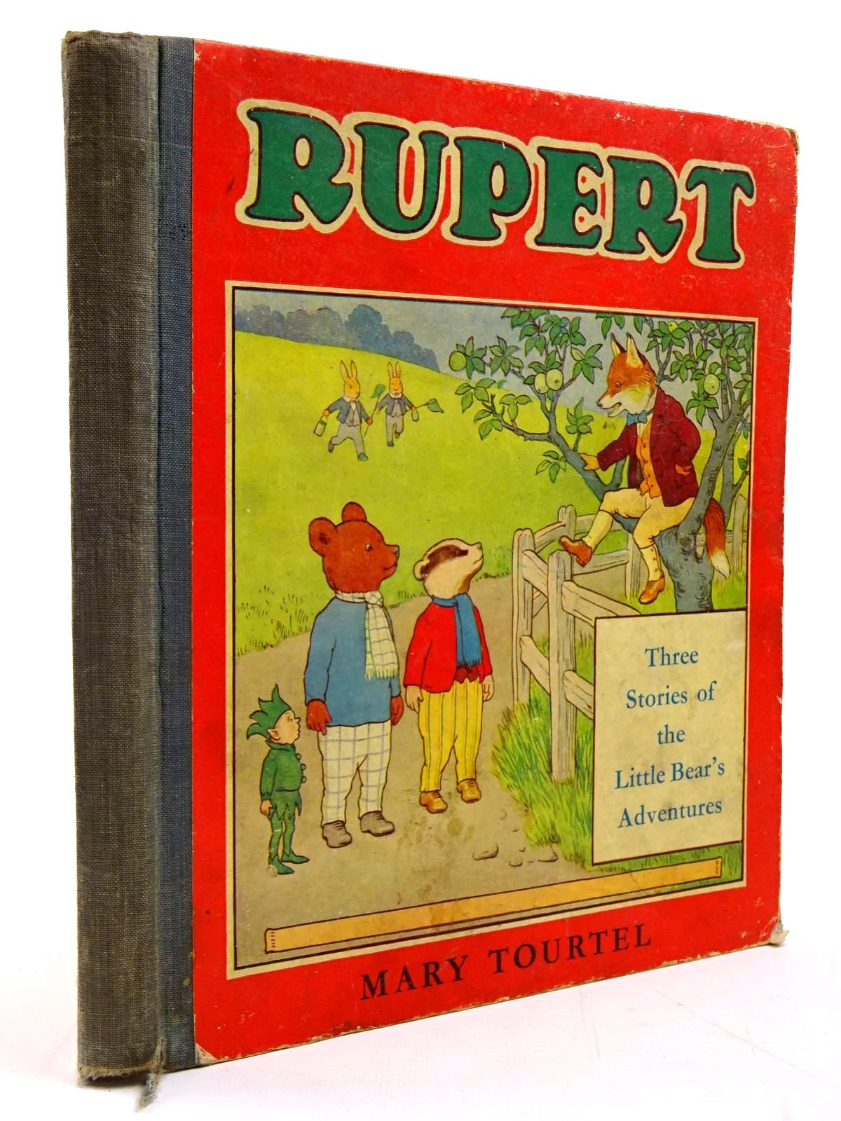 Photo of RUPERT THREE STORIES OF THE LITTLE BEAR'S ADVENTURES written by Tourtel, Mary illustrated by Tourtel, Mary published by Marks & Spencer (STOCK CODE: 2130865)  for sale by Stella & Rose's Books