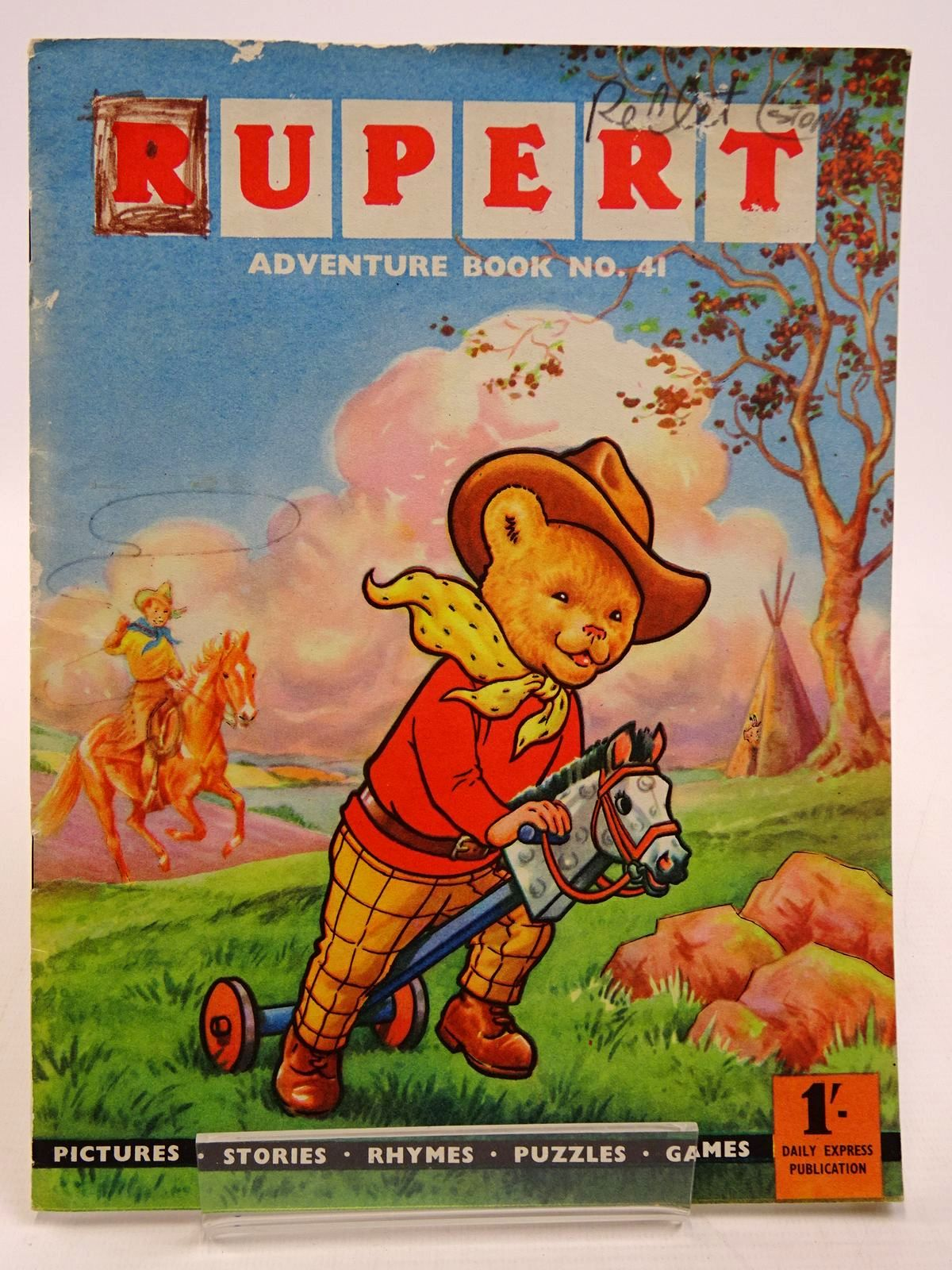 Photo of RUPERT ADVENTURE BOOK No. 41 written by Bestall, Alfred published by Daily Express (STOCK CODE: 2130868)  for sale by Stella & Rose's Books