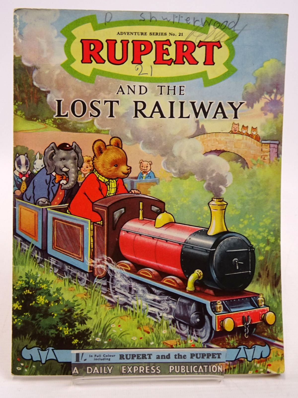 Photo of RUPERT ADVENTURE SERIES No. 21 - RUPERT AND THE LOST RAILWAY- Stock Number: 2130869