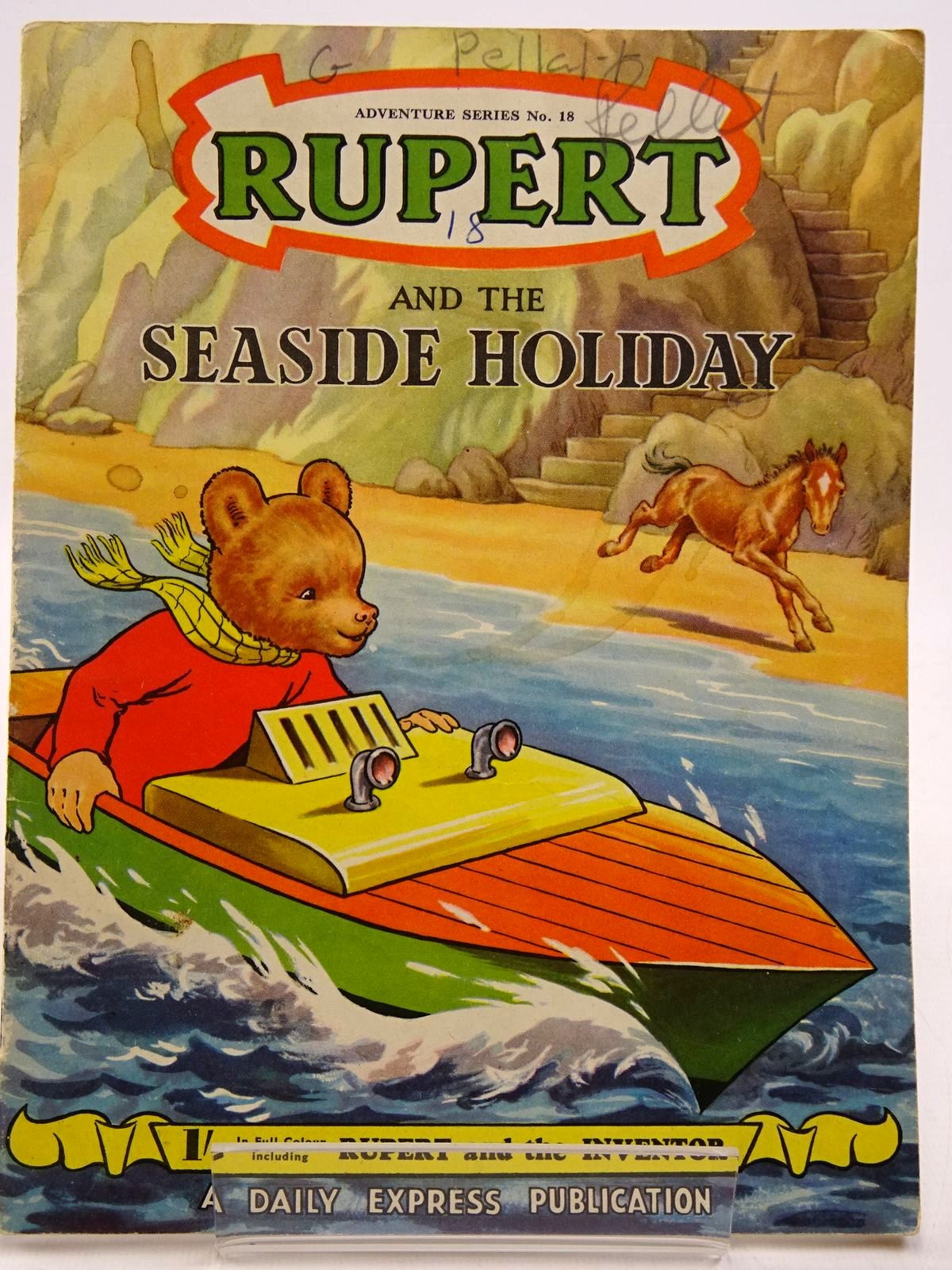 Photo of RUPERT ADVENTURE SERIES No. 18 - RUPERT AND THE SEASIDE HOLIDAY- Stock Number: 2130870