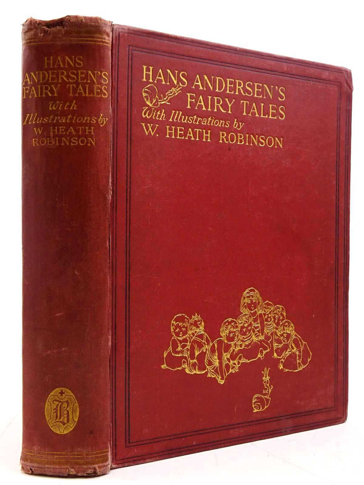 Photo of HANS ANDERSEN'S FAIRY TALES written by Andersen, Hans Christian illustrated by Robinson, W. Heath published by Hodder & Stoughton, Boots the Chemists (STOCK CODE: 2130872)  for sale by Stella & Rose's Books