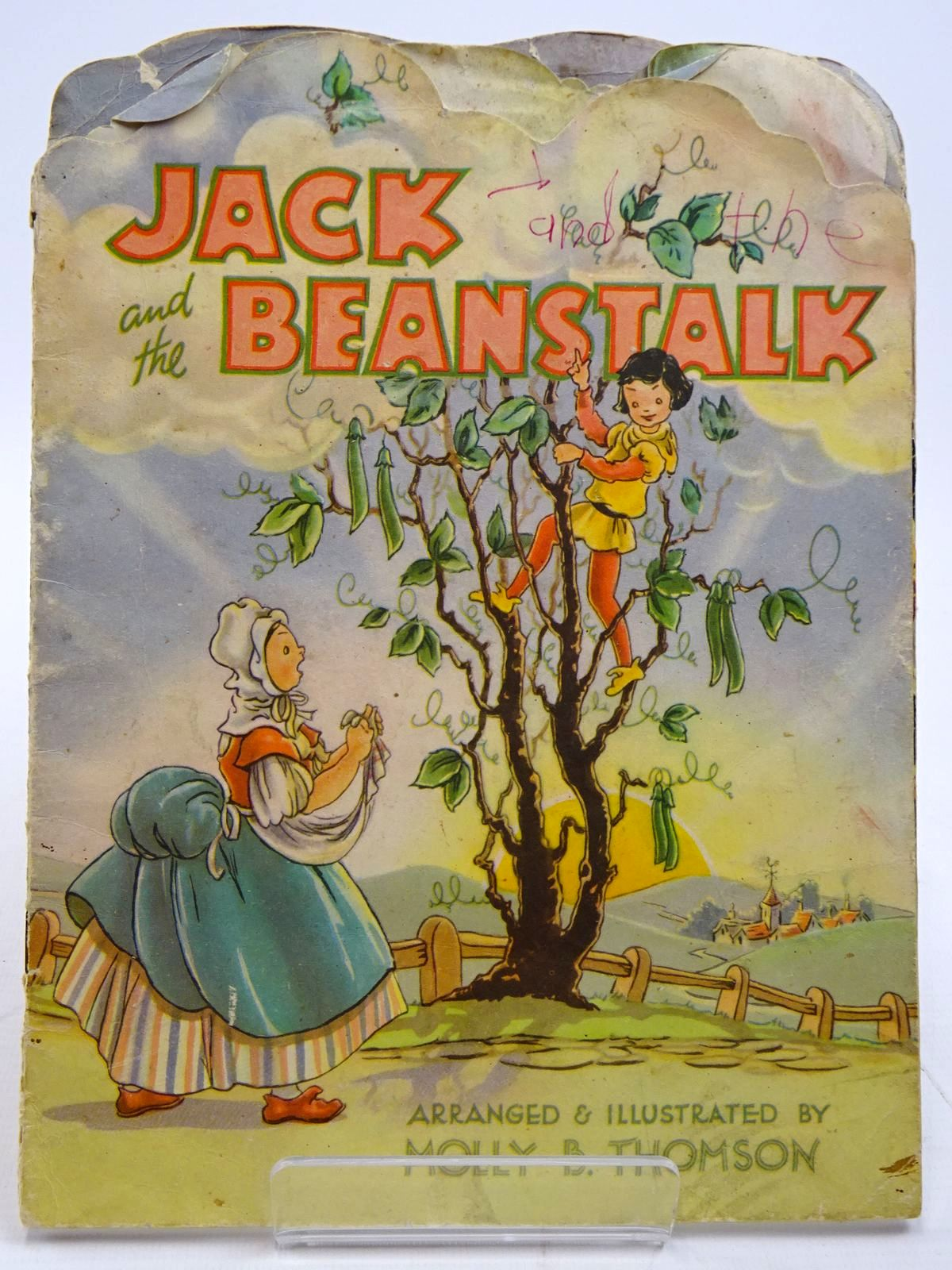 Photo of JACK AND THE BEANSTALK written by Thomson, Molly B. illustrated by Thomson, Molly B. published by Collins Clear-Type Press (STOCK CODE: 2130879)  for sale by Stella & Rose's Books