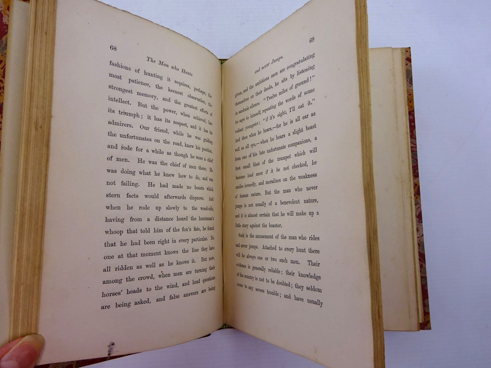 Photo of HUNTING SKETCHES written by Trollope, Anthony published by Chapman & Hall (STOCK CODE: 2130943)  for sale by Stella & Rose's Books