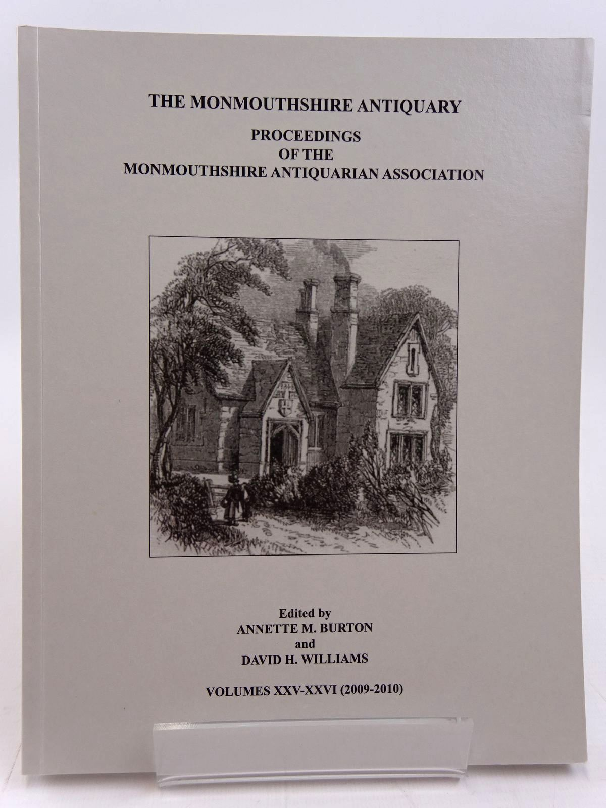 Photo of THE MONMOUTHSHIRE ANTIQUARY VOLUME XXV-XXVI written by Burton, Annette M. Williams, David H. published by Monmouthshire Antiquarian Association (STOCK CODE: 2130955)  for sale by Stella & Rose's Books