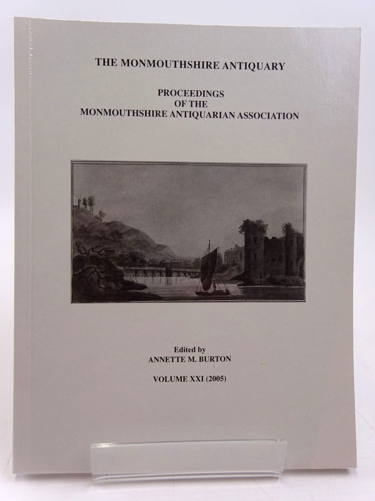 Photo of THE MONMOUTHSHIRE ANTIQUARY VOLUME XXI written by Burton, Annette M. published by Monmouthshire Antiquarian Association (STOCK CODE: 2130957)  for sale by Stella & Rose's Books