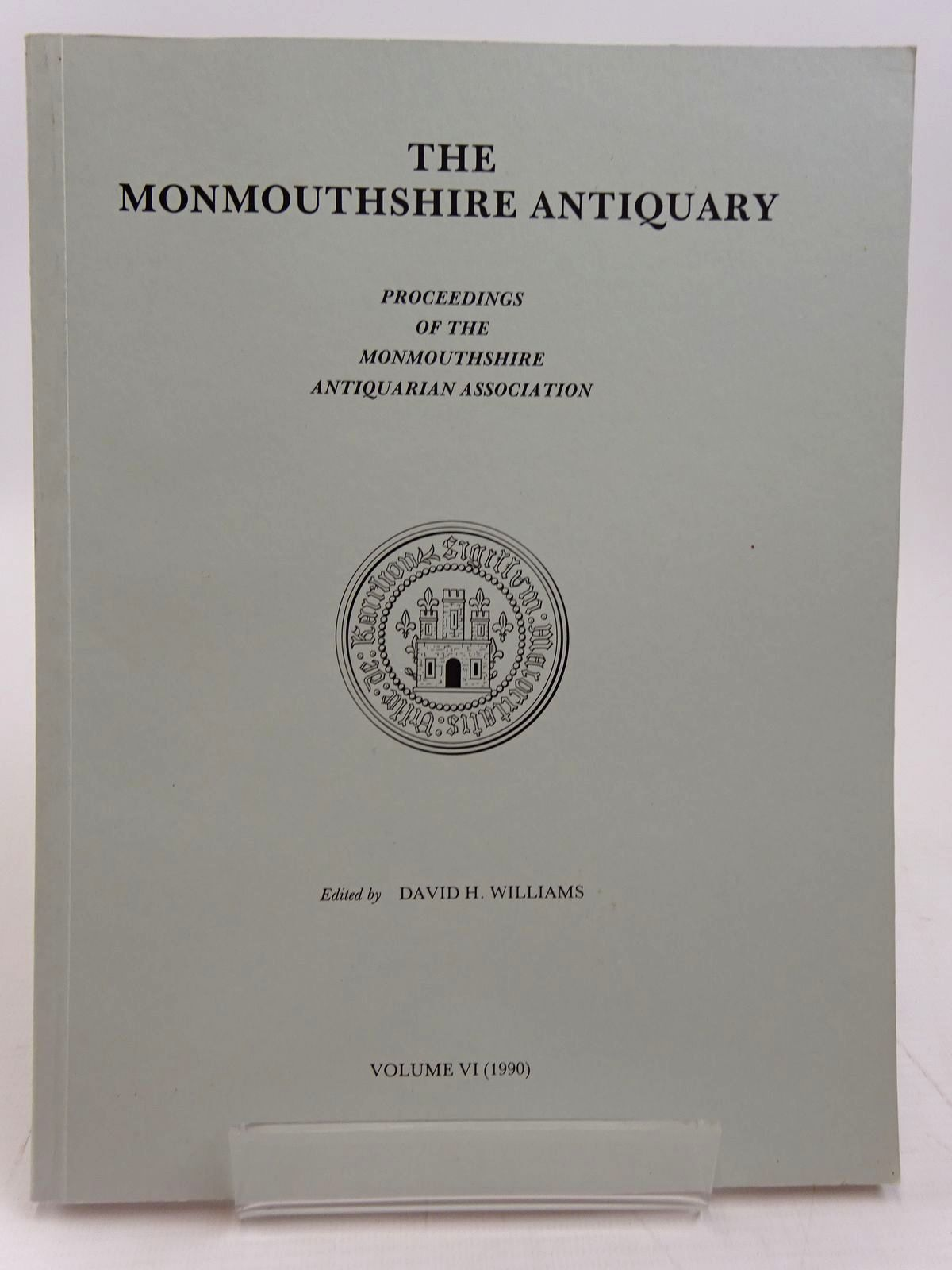Photo of THE MONMOUTHSHIRE ANTIQUARY VOLUME VI written by Williams, David H. published by Monmouthshire Antiquarian Association (STOCK CODE: 2130959)  for sale by Stella & Rose's Books