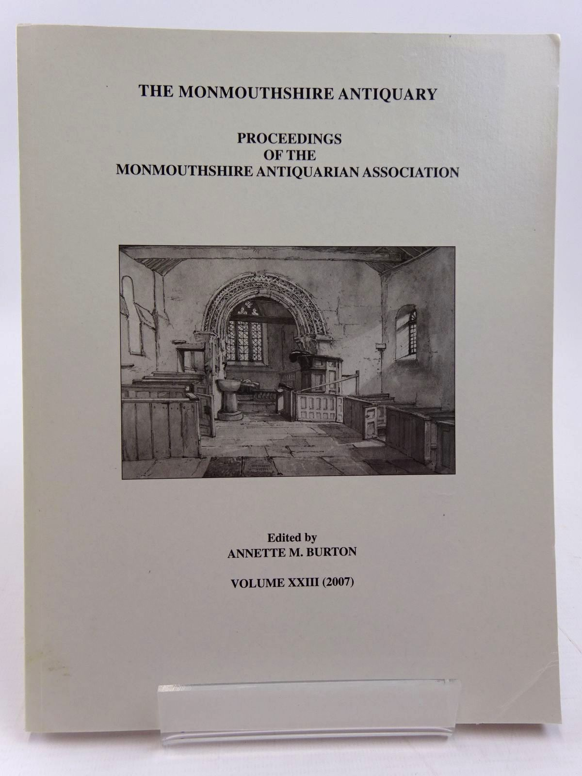 Photo of THE MONMOUTHSHIRE ANTIQUARY VOLUME XXIII written by Burton, Annette M. published by Monmouthshire Antiquarian Association (STOCK CODE: 2130960)  for sale by Stella & Rose's Books