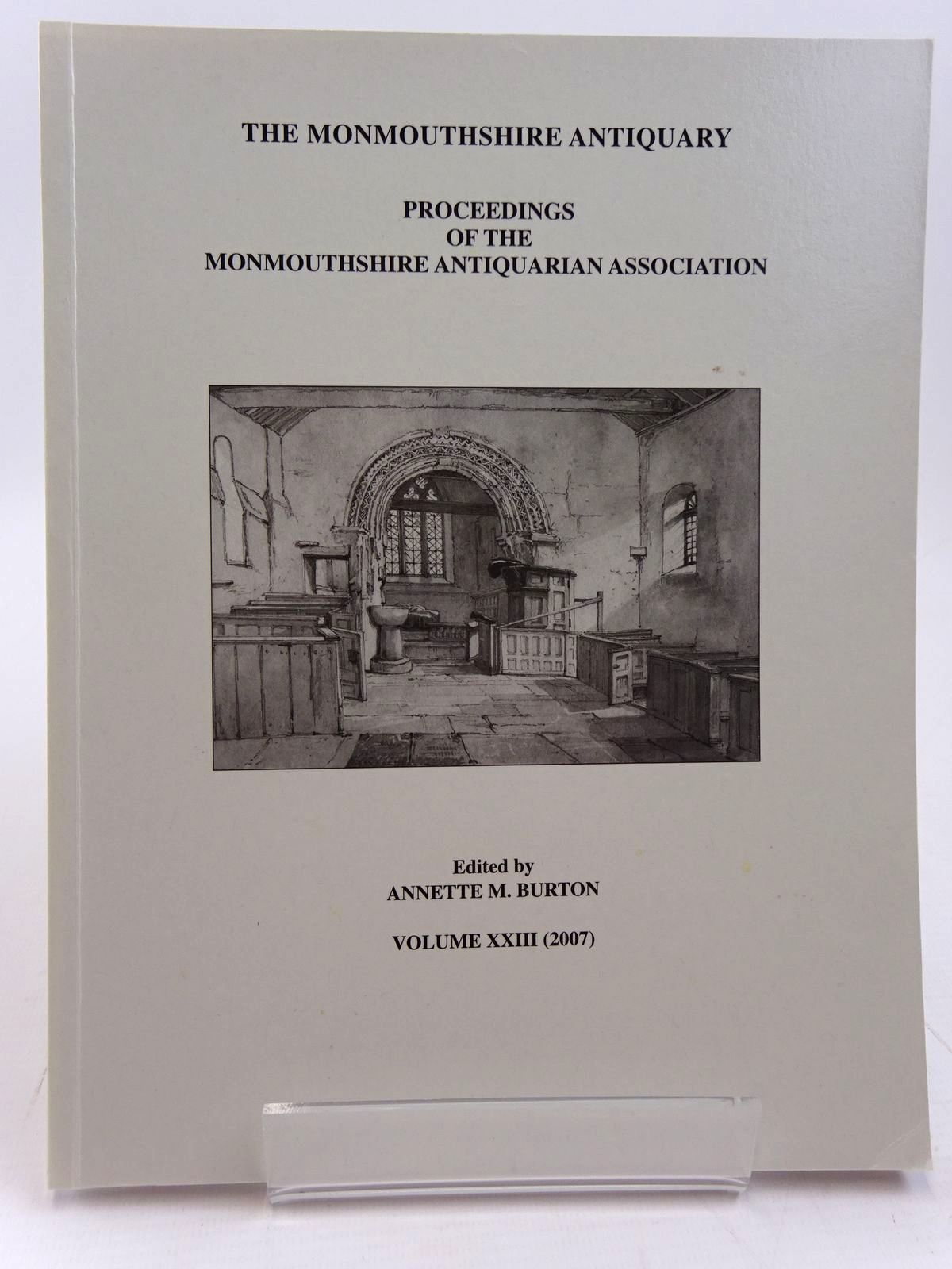 Photo of THE MONMOUTHSHIRE ANTIQUARY VOLUME XXIII written by Burton, Annette M. published by Monmouthshire Antiquarian Association (STOCK CODE: 2130968)  for sale by Stella & Rose's Books