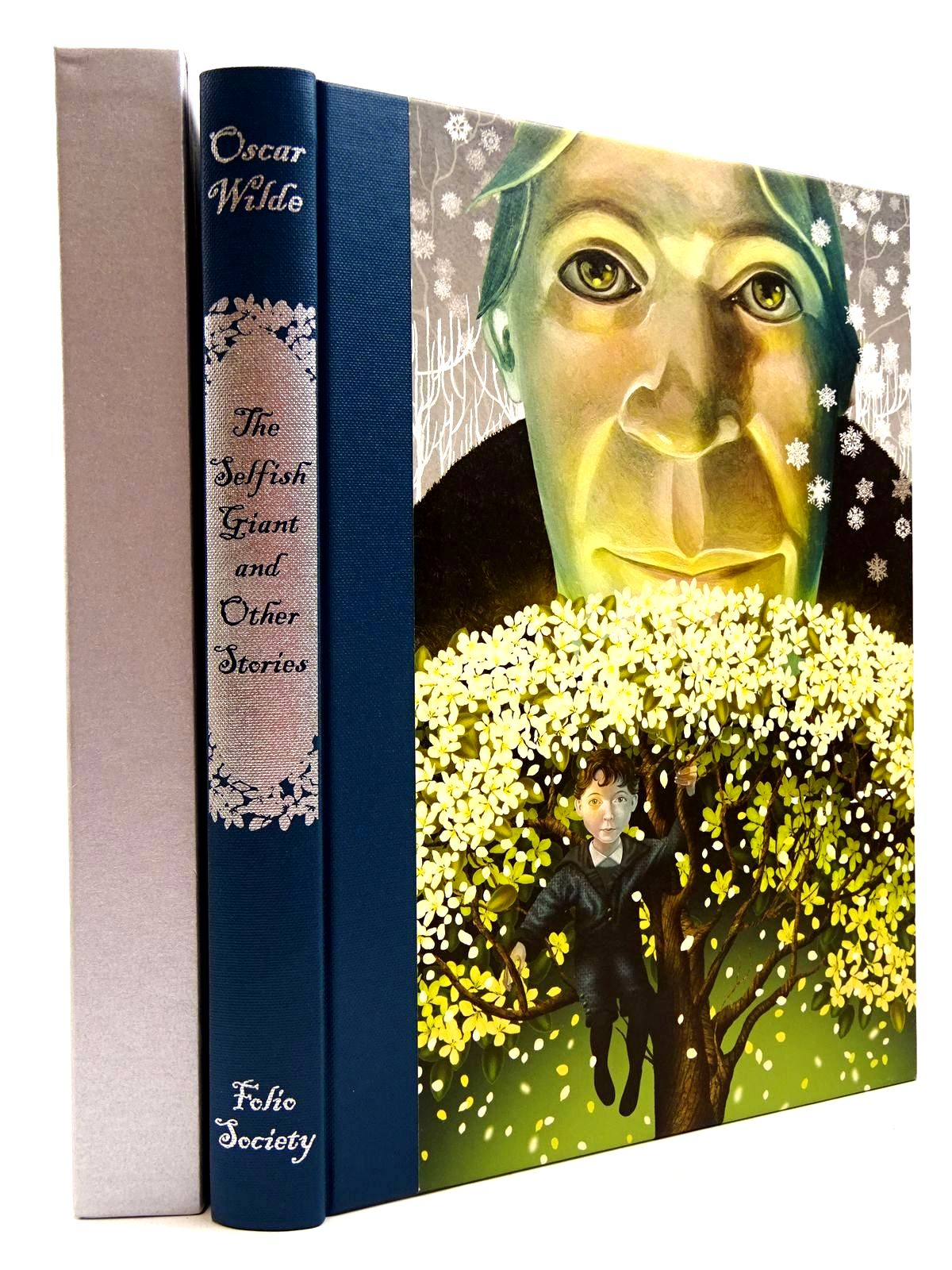 Photo of THE SELFISH GIANT AND OTHER STORIES written by Wilde, Oscar illustrated by Baker-Smith, Grahame published by Folio Society (STOCK CODE: 2130987)  for sale by Stella & Rose's Books