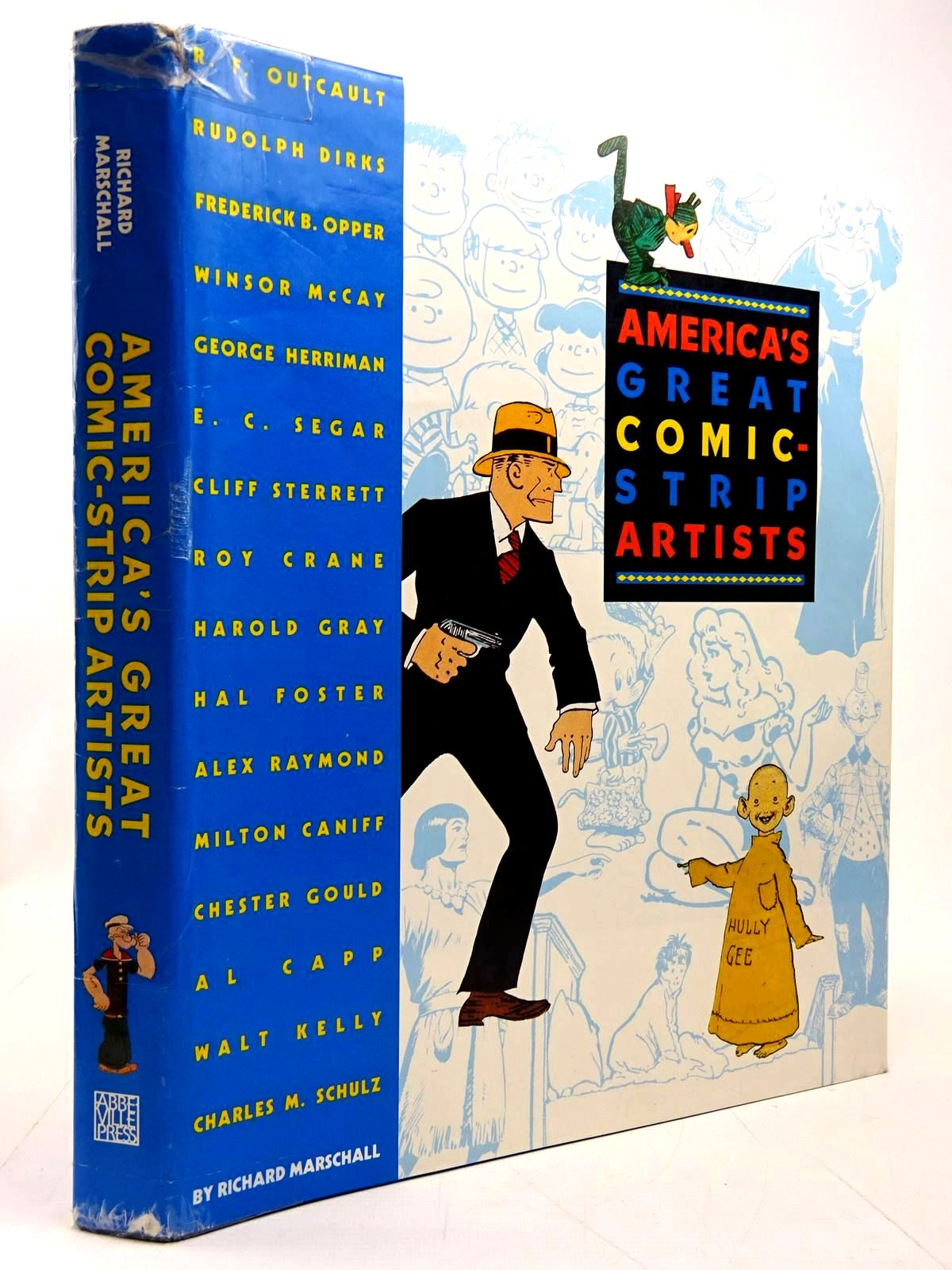Photo of AMERICA'S GREAT COMIC-STRIP ARTISTS written by Marschall, Richard illustrated by Outcault, R.F.<br />Opper, F.<br />Gray, Harold<br />Schulz, Charles M.<br />et al., published by Abbeville Press (STOCK CODE: 2131007)  for sale by Stella & Rose's Books