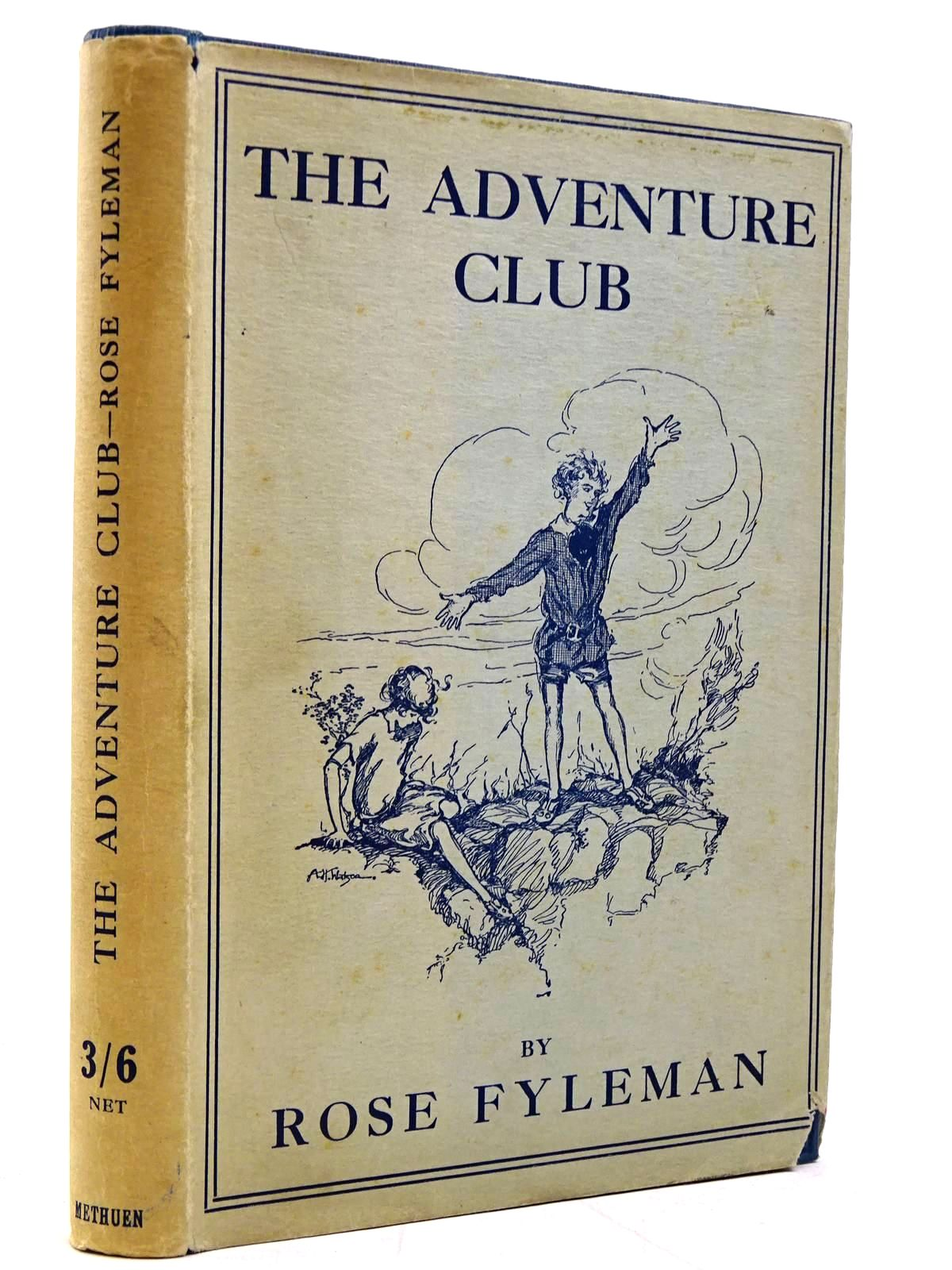 Photo of THE ADVENTURE CLUB written by Fyleman, Rose illustrated by Watson, A.H. published by Methuen & Co. Ltd. (STOCK CODE: 2131045)  for sale by Stella & Rose's Books