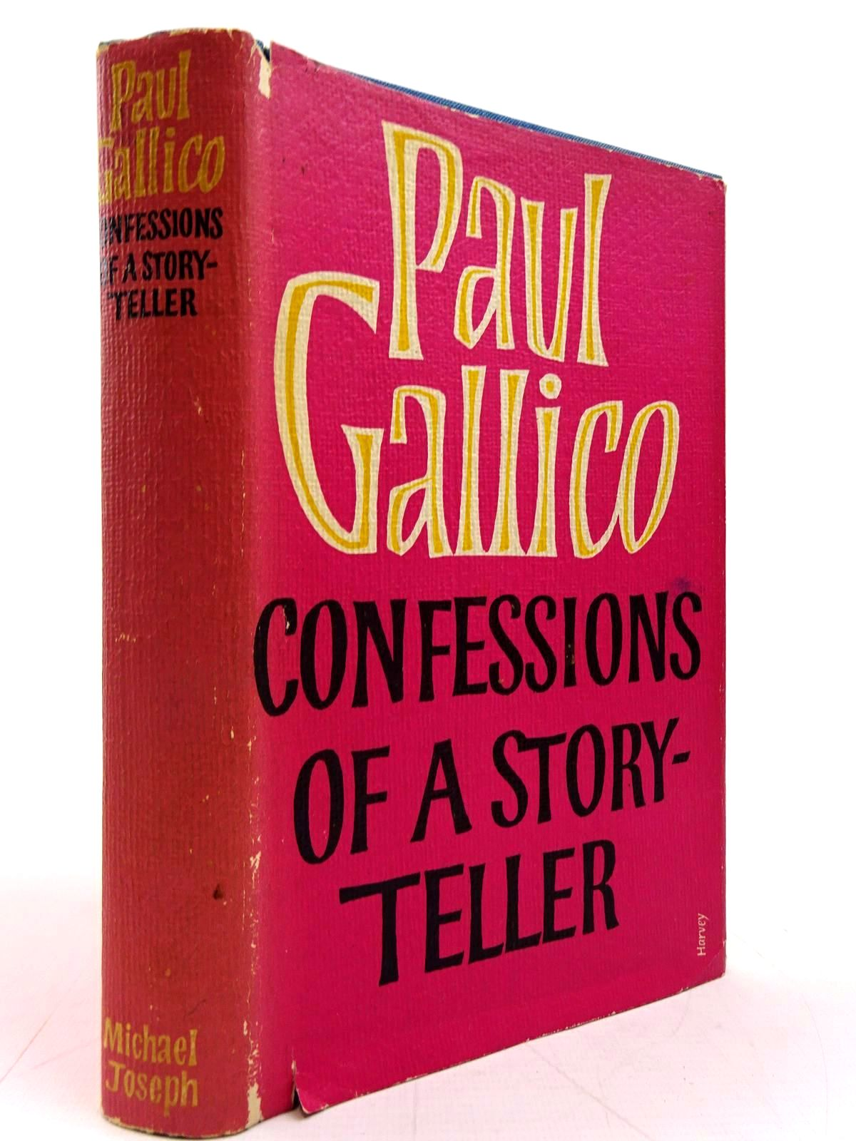 Photo of CONFESSIONS OF A STORY-TELLER- Stock Number: 2131062