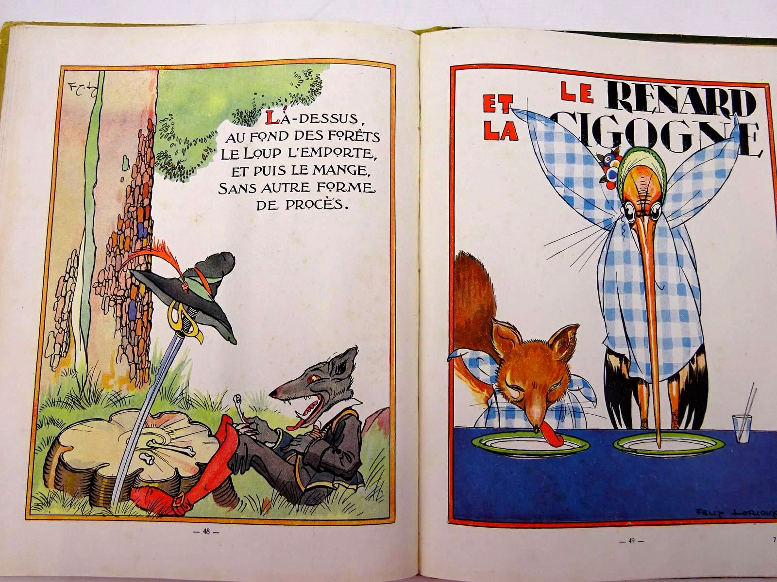 Photo of FABLES DE LA FONTAINE written by La Fontaine, Jean De illustrated by Lorioux, Felix published by Librairie Hachette (STOCK CODE: 2131071)  for sale by Stella & Rose's Books