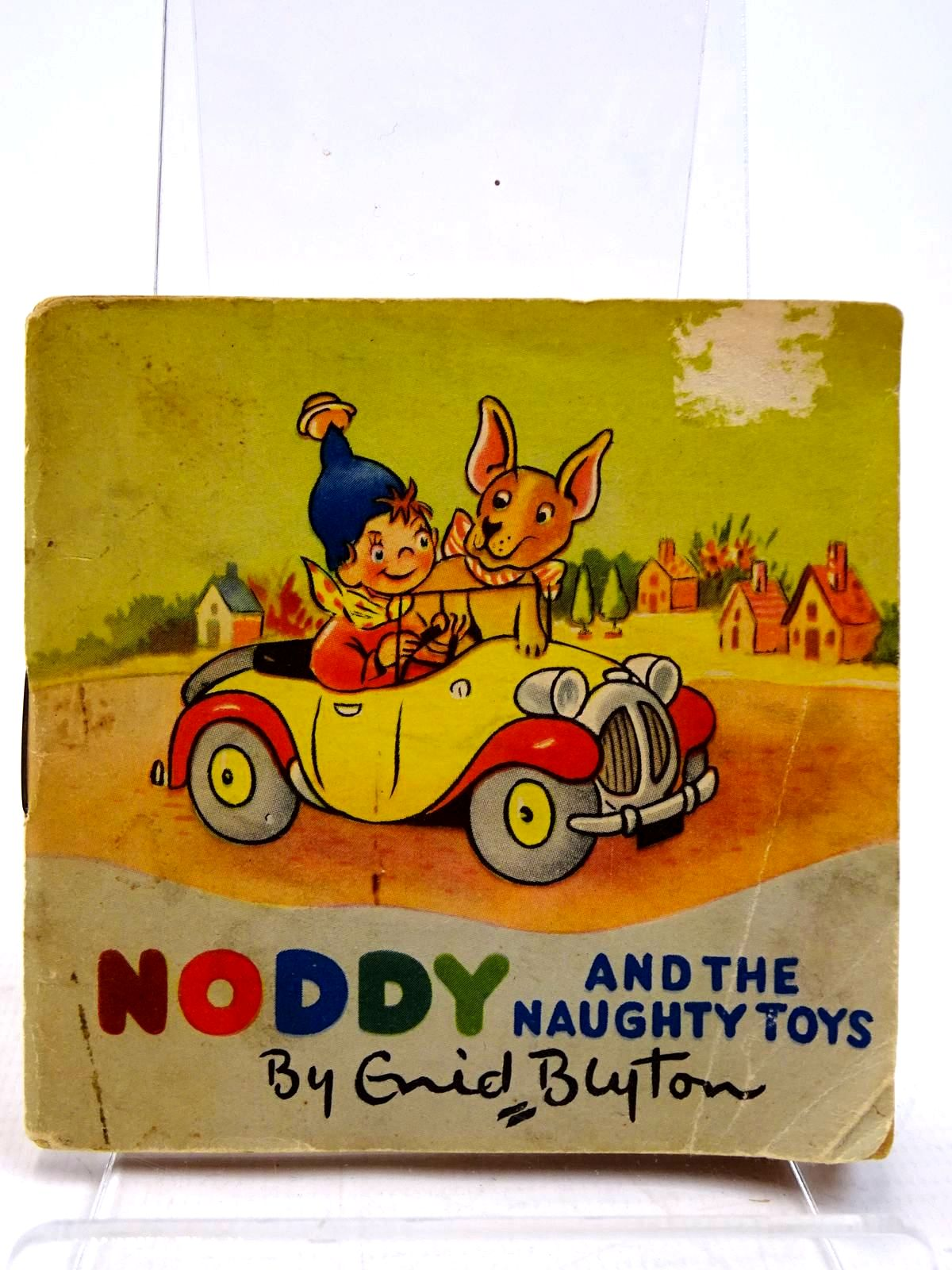 Photo of NODDY AND THE NAUGHTY TOYS written by Blyton, Enid illustrated by Beek,  published by Sampson Low, Marston & Co. Ltd. (STOCK CODE: 2131097)  for sale by Stella & Rose's Books