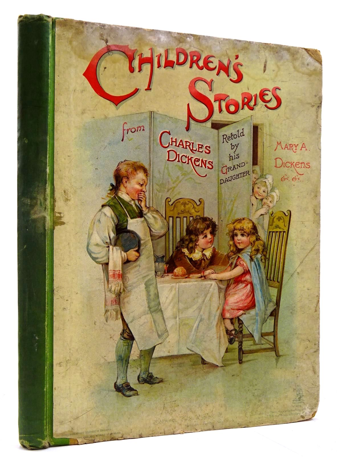 Photo of CHILDREN'S STORIES FROM DICKENS written by Dickens, Mary Angela Vredenburg, Edric et al,  illustrated by Brundage, Frances Copping, Harold et al.,  published by Raphael Tuck & Sons Ltd. (STOCK CODE: 2131124)  for sale by Stella & Rose's Books