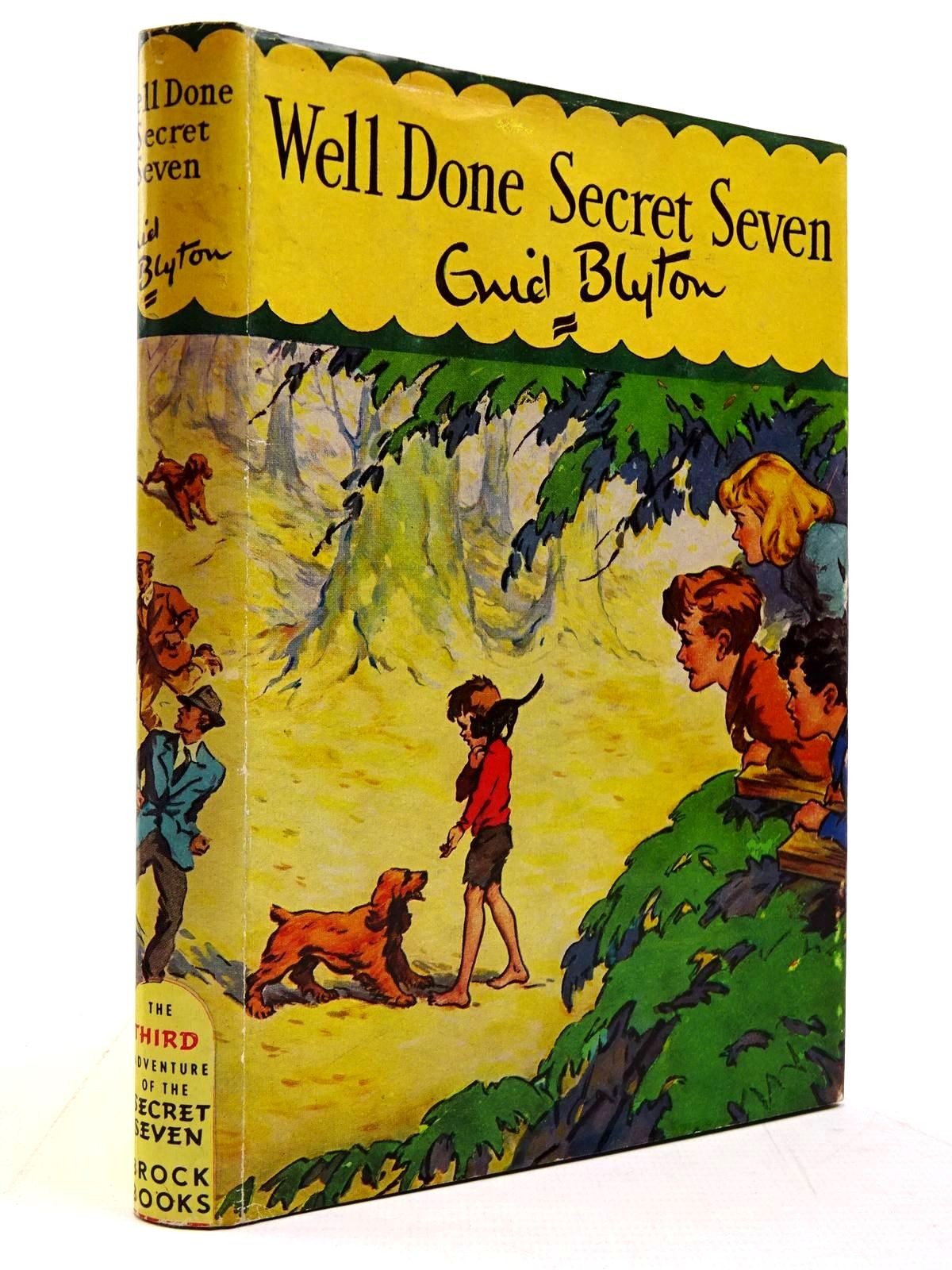 Photo of WELL DONE SECRET SEVEN! written by Blyton, Enid illustrated by Brook, George published by Brockhampton Press (STOCK CODE: 2131135)  for sale by Stella & Rose's Books