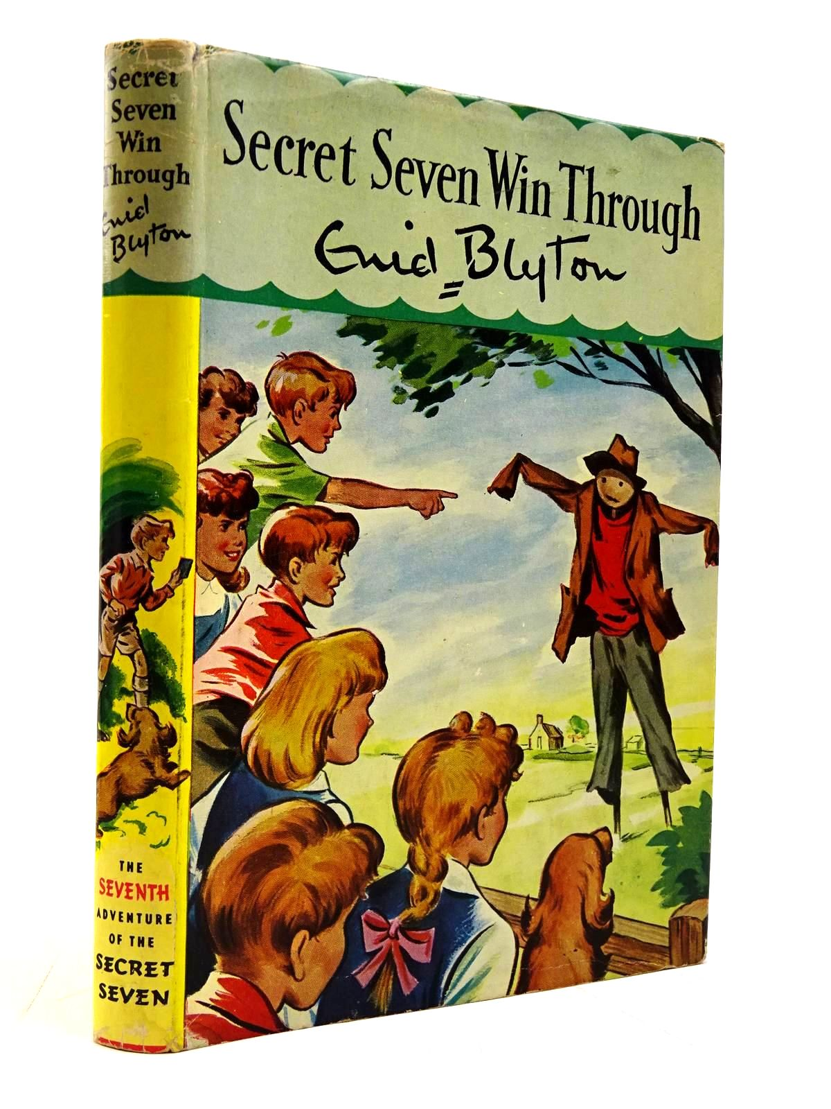 Photo of SECRET SEVEN WIN THROUGH written by Blyton, Enid illustrated by Kay, Bruno published by Brockhampton Press Ltd. (STOCK CODE: 2131136)  for sale by Stella & Rose's Books