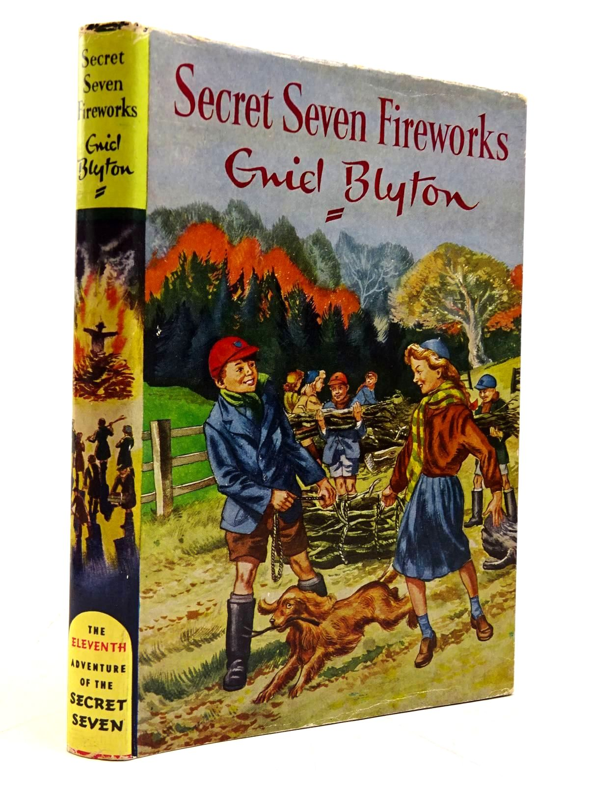 Photo of SECRET SEVEN FIREWORKS written by Blyton, Enid illustrated by Sharrocks, Burgess published by Brockhampton Press (STOCK CODE: 2131137)  for sale by Stella & Rose's Books