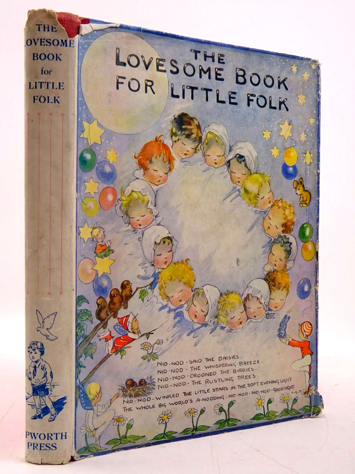 Photo of THE LOVESOME BOOK FOR LITTLE FOLK written by Rossiter, Kay Longson, P.B. Anderson, Lee et al,  illustrated by Spurr, B. Longson, P.B. Gordon, Lesley et al.,  published by The Epworth Press (STOCK CODE: 2131159)  for sale by Stella & Rose's Books