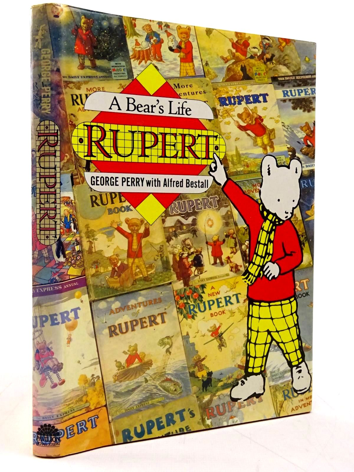 Photo of RUPERT A BEAR'S LIFE written by Perry, George illustrated by Bestall, Alfred published by Pavilion Books, Michael Joseph (STOCK CODE: 2131184)  for sale by Stella & Rose's Books