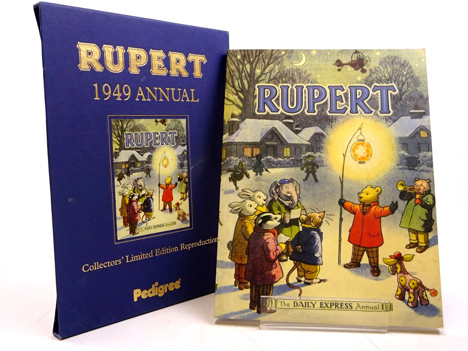 Photo of RUPERT ANNUAL 1949 (FACSIMILE) written by Bestall, Alfred illustrated by Bestall, Alfred published by Pedigree Books Limited (STOCK CODE: 2131191)  for sale by Stella & Rose's Books