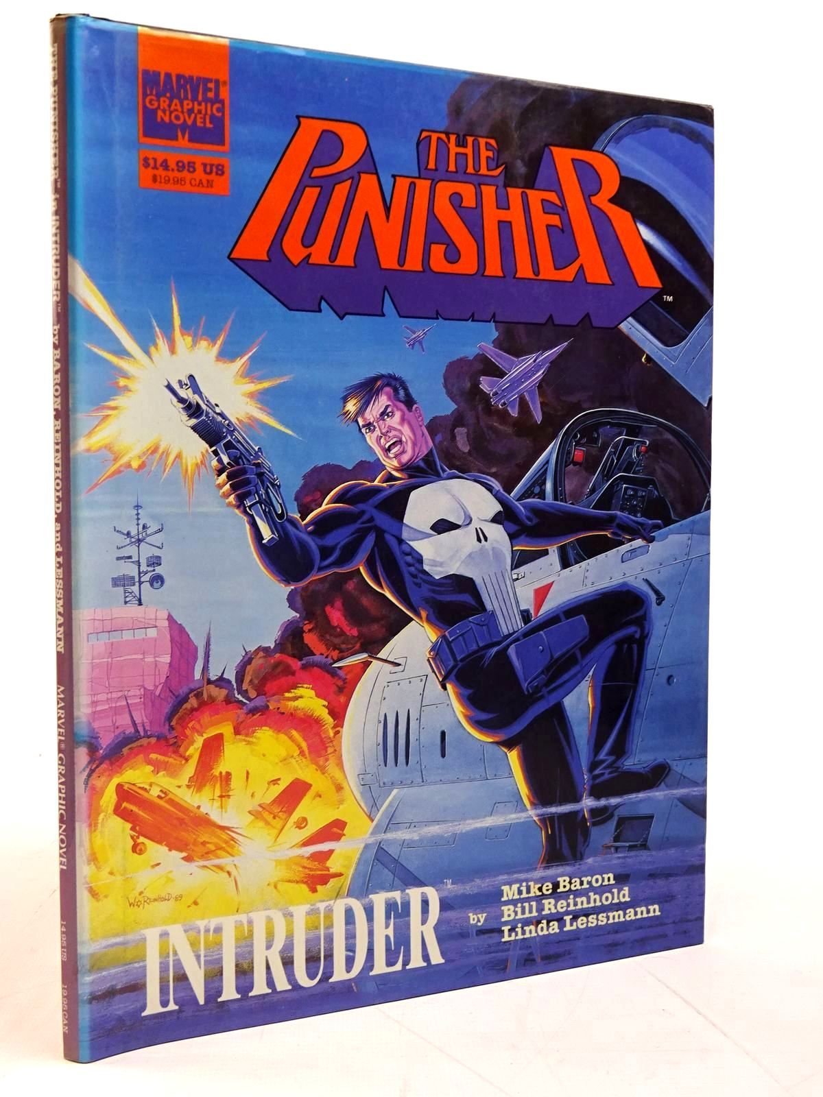 Photo of THE PUNISHER IN INTRUDER written by Baron, Mike illustrated by Reinhold, Bill published by Marvel Entertainment Group (STOCK CODE: 2131202)  for sale by Stella & Rose's Books