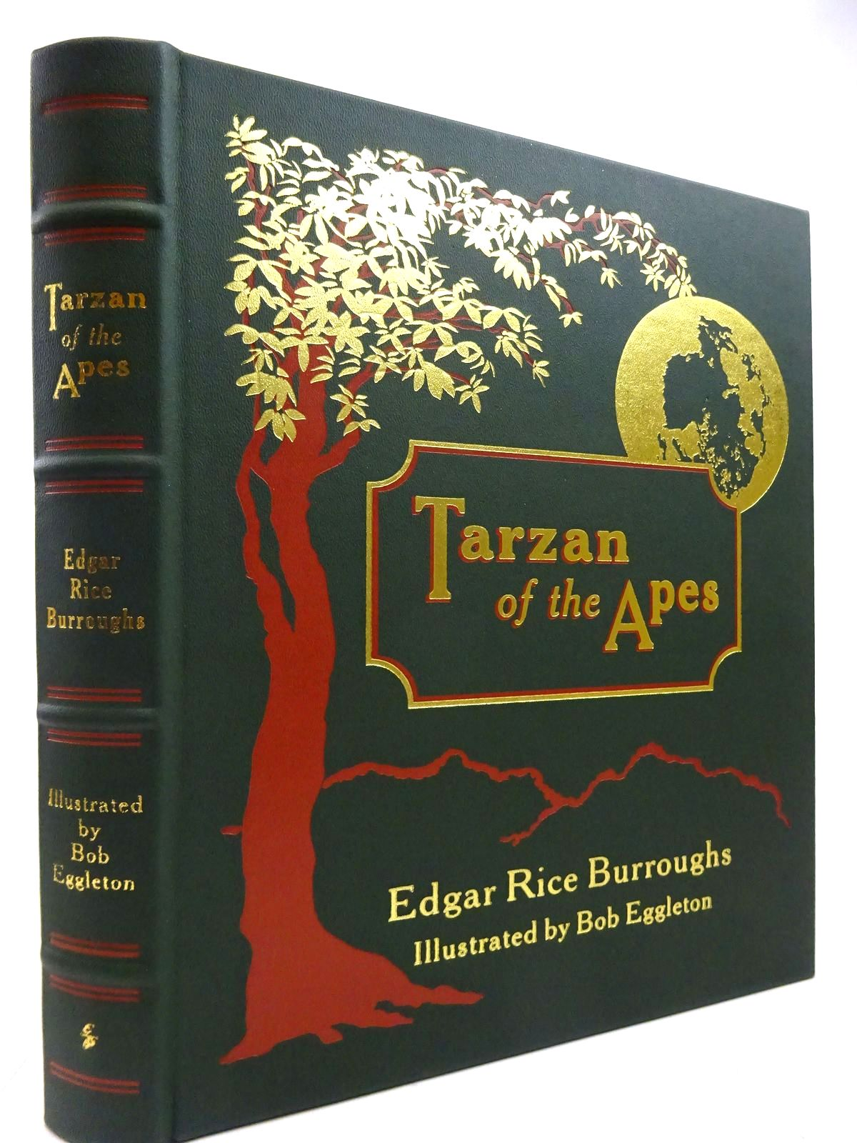 Photo of TARZAN OF THE APES written by Burroughs, Edgar Rice illustrated by Eggleton, Bob published by Easton Press (STOCK CODE: 2131237)  for sale by Stella & Rose's Books