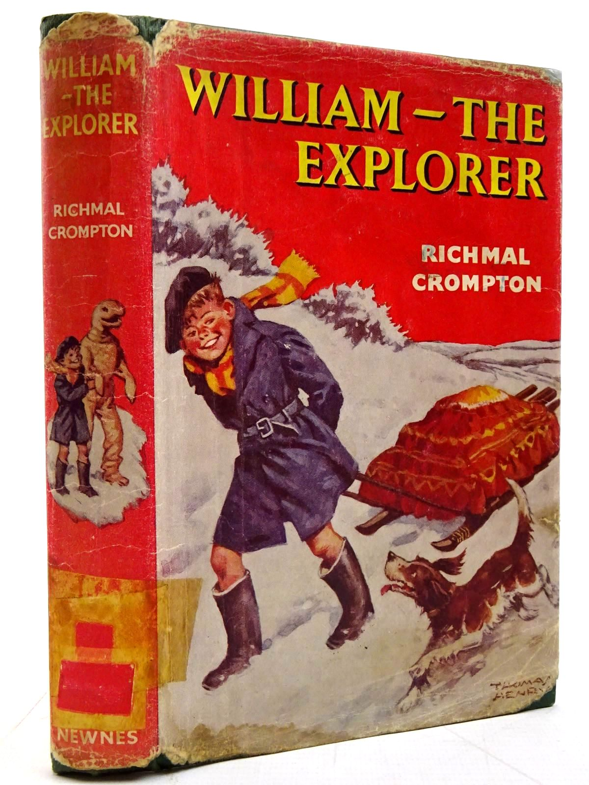 Photo of WILLIAM THE EXPLORER written by Crompton, Richmal illustrated by Henry, Thomas published by George Newnes (STOCK CODE: 2131337)  for sale by Stella & Rose's Books