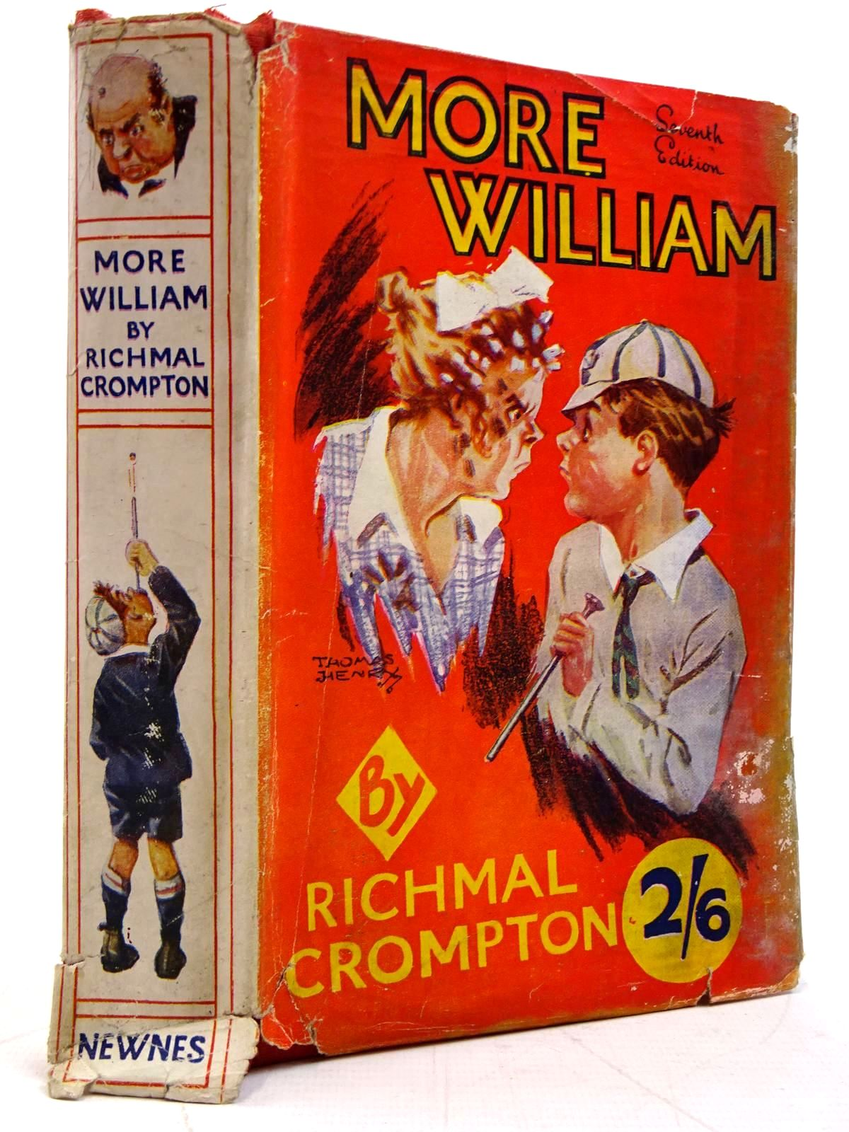 Photo of MORE WILLIAM written by Crompton, Richmal illustrated by Henry, Thomas published by George Newnes Limited (STOCK CODE: 2131340)  for sale by Stella & Rose's Books