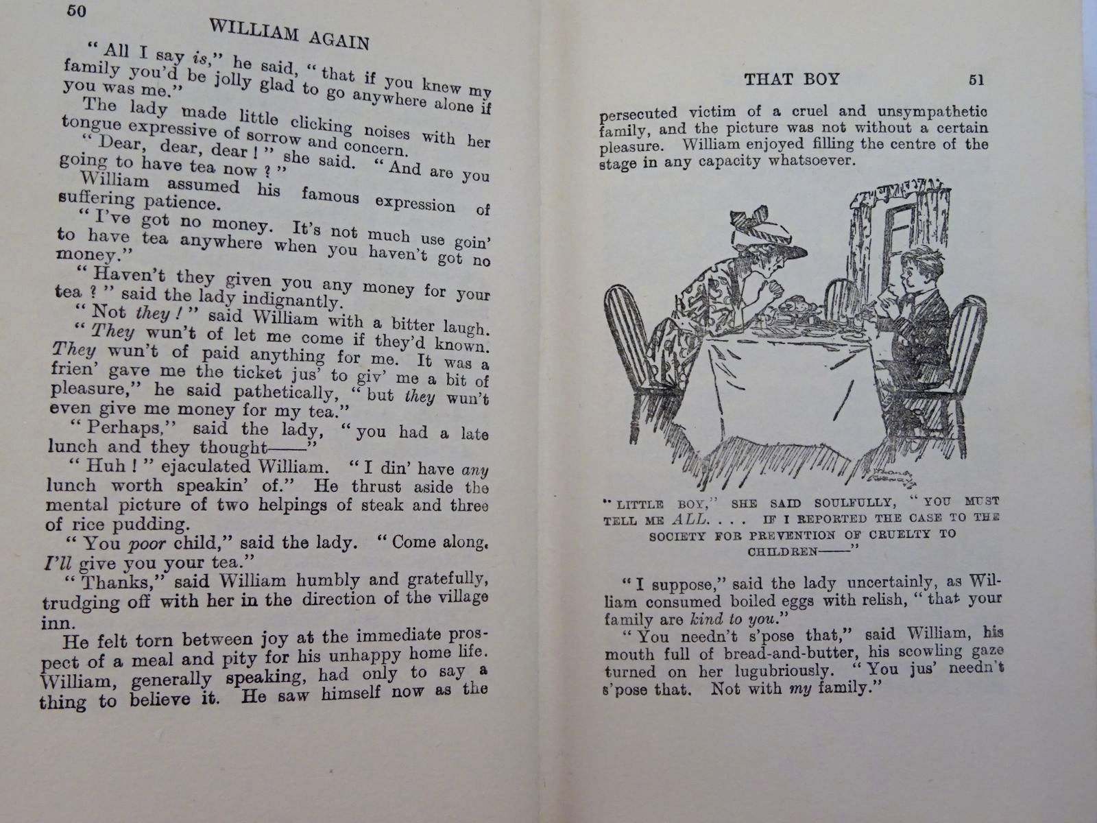 Photo of WILLIAM AGAIN written by Crompton, Richmal illustrated by Henry, Thomas published by George Newnes Ltd. (STOCK CODE: 2131341)  for sale by Stella & Rose's Books
