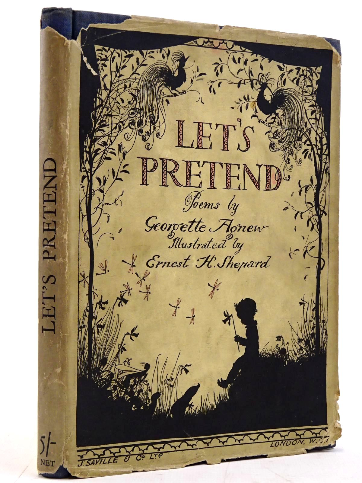 Photo of LET'S PRETEND written by Agnew, Georgette illustrated by Shepard, E.H. published by J. Saville & Co. Ltd. (STOCK CODE: 2131347)  for sale by Stella & Rose's Books