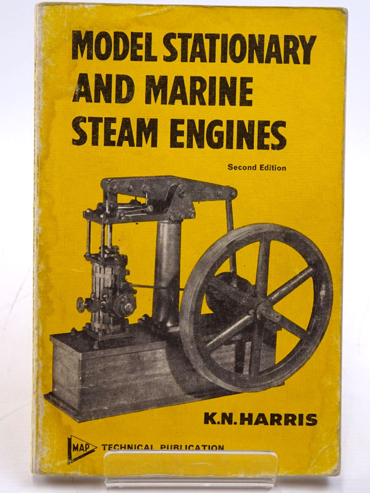Photo of MODEL STATIONARY AND MARINE STEAM ENGINES written by Harris, K.N. published by Model & Allied Publications Ltd. (STOCK CODE: 2131348)  for sale by Stella & Rose's Books